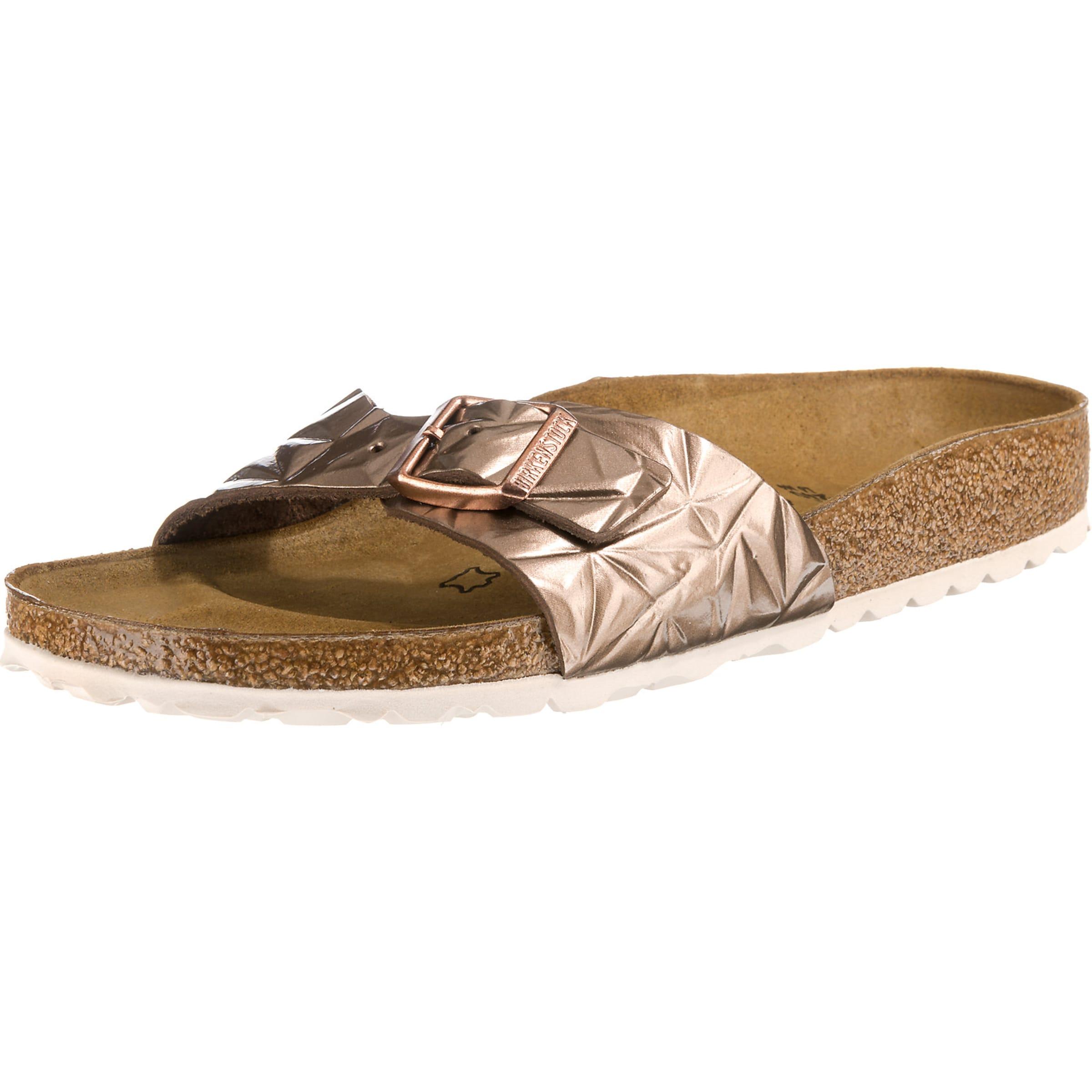 Pantoletten 'madrid' 'madrid' Birkenstock Pantoletten In Bronze Birkenstock eQrBodxCW