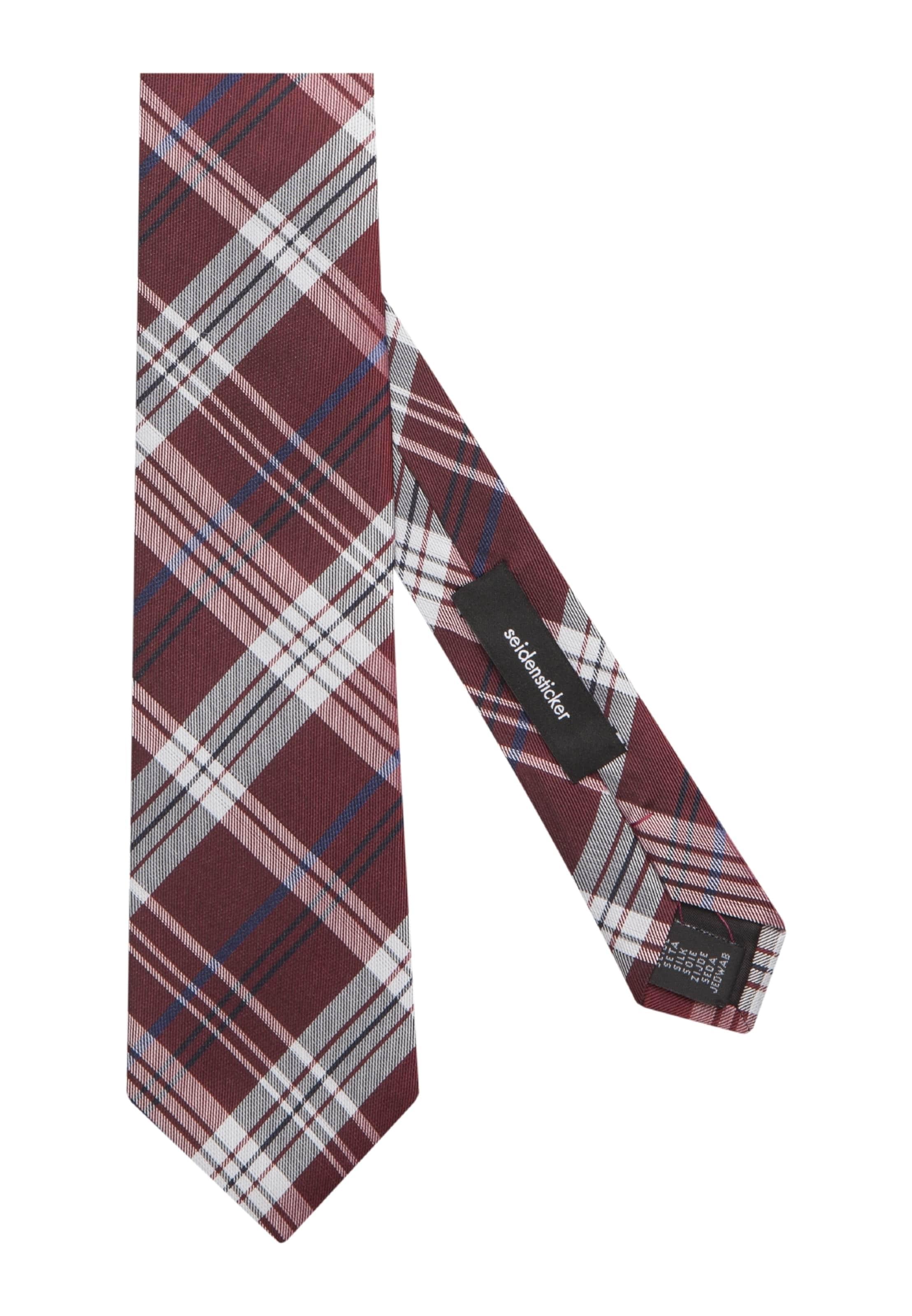 'schwarze Seidensticker Cravate En Rose' Marine HWD9EI2