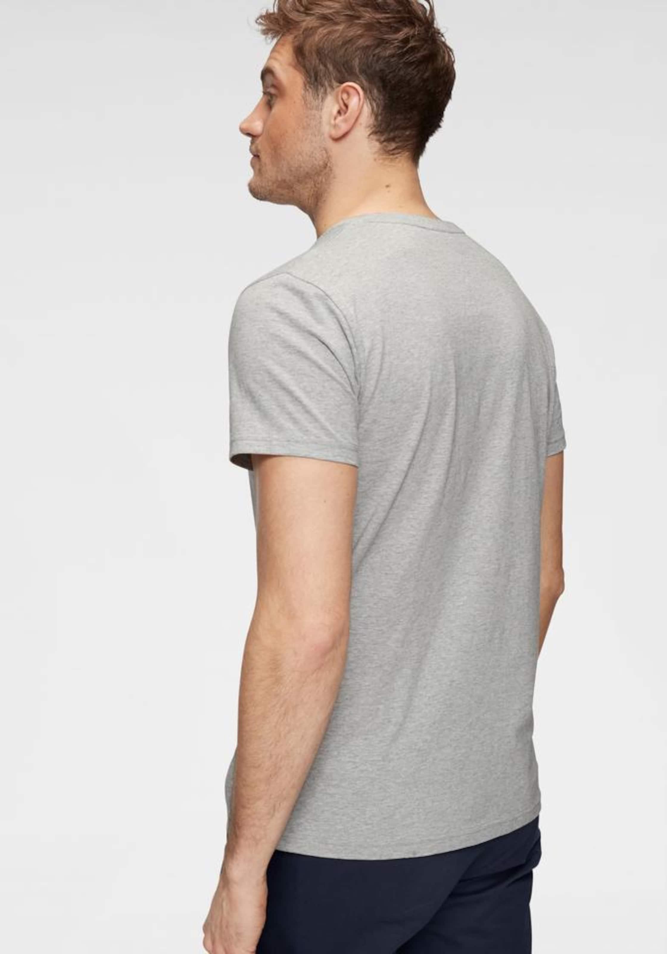 shirt GraumeliertWeiß Gant T In pMqSUzV