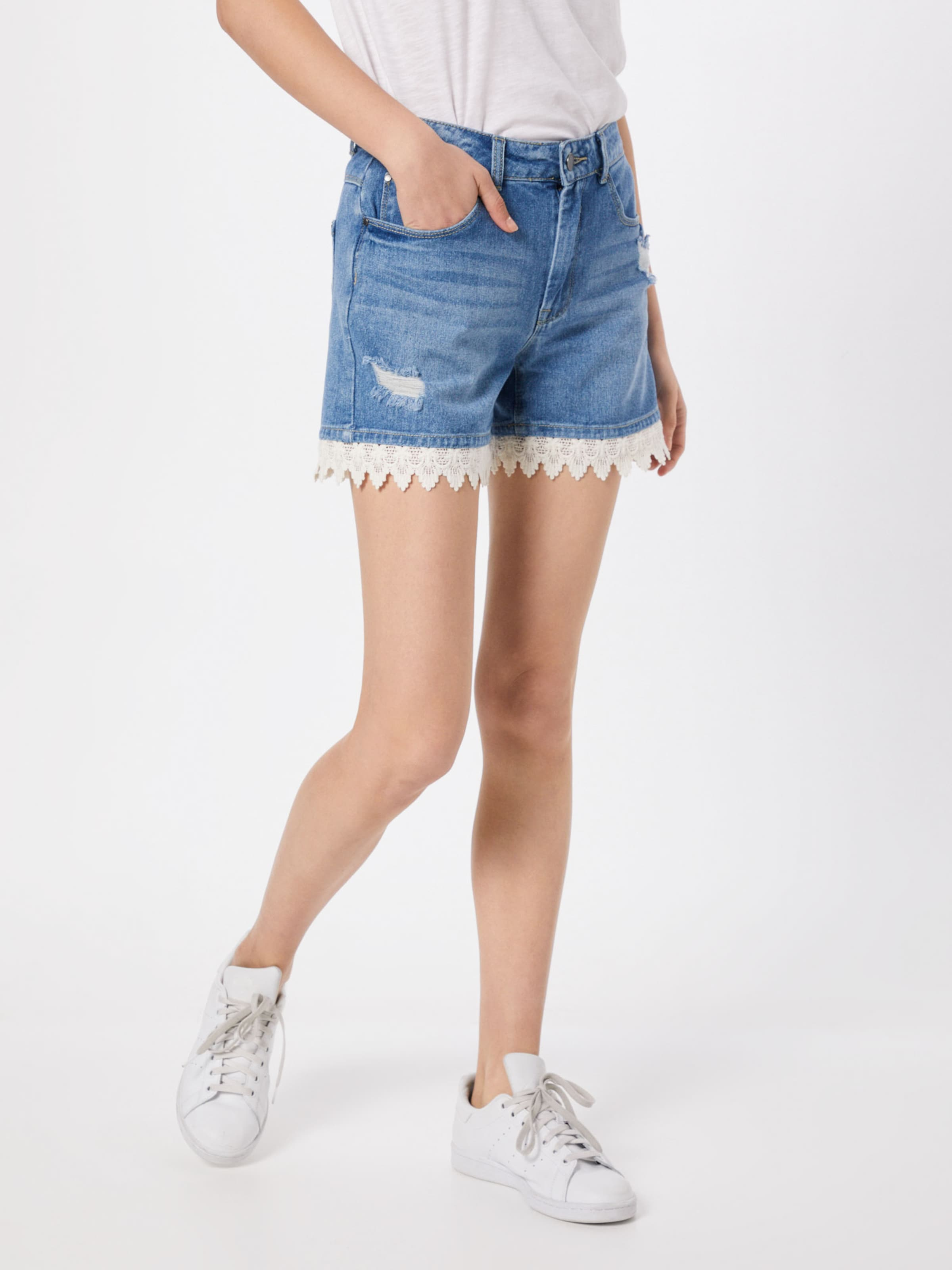 Yong Bleu Pantalon Denim Jacqueline En De N8wvmn0