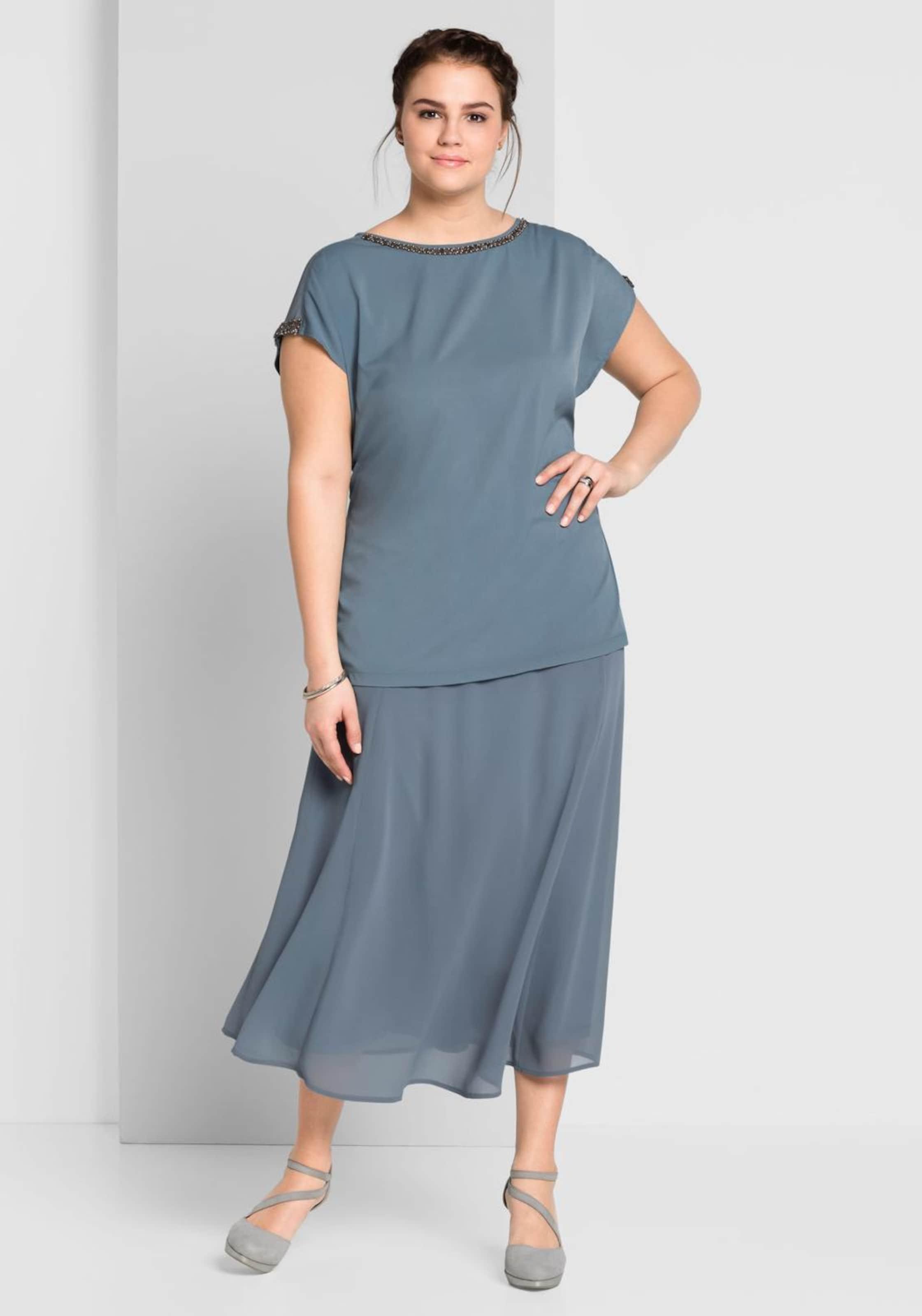 Style In Rauchblau Bluse Sheego Style Rauchblau Sheego In Bluse 2IEYWHD9