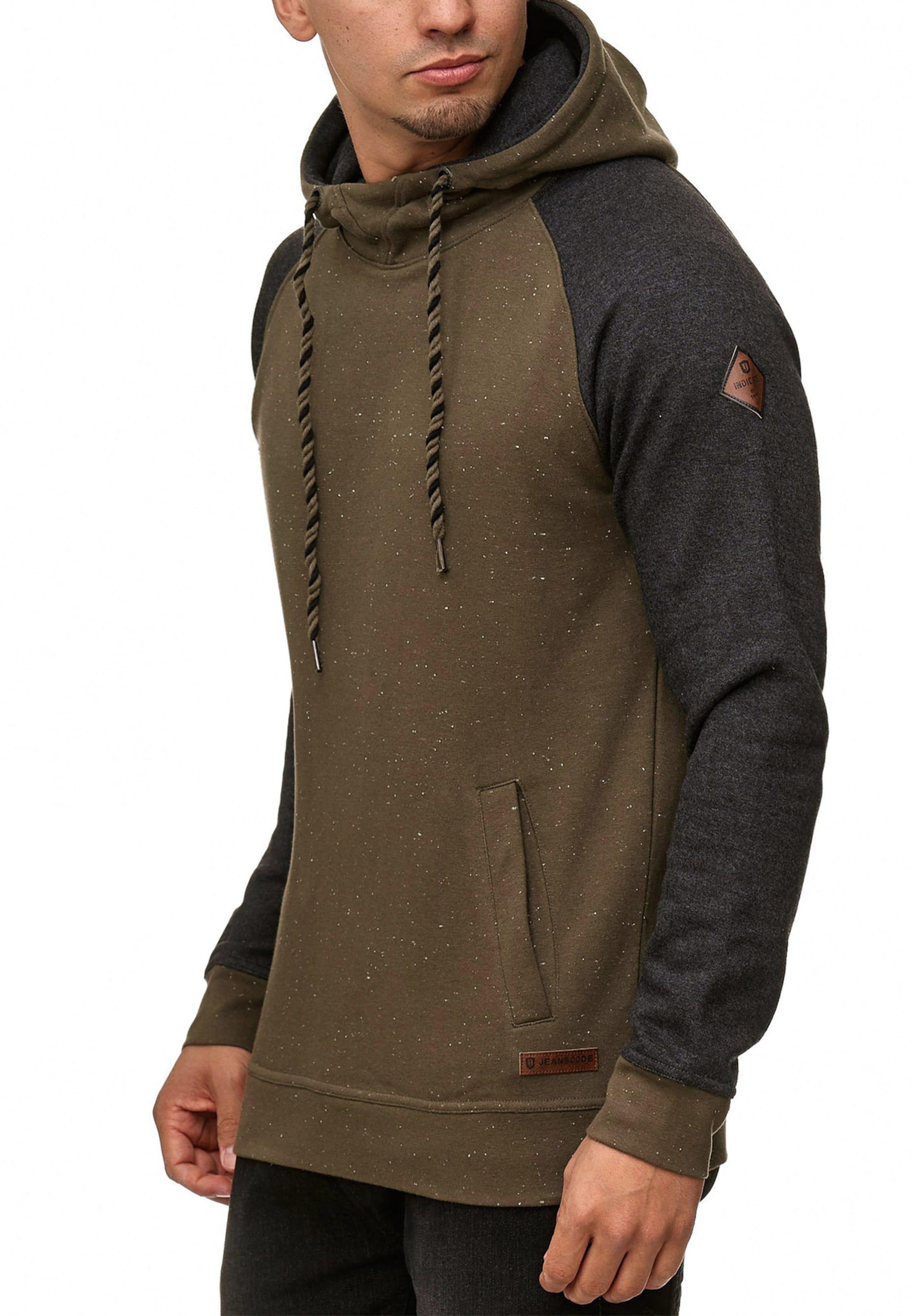 Indicode En Sweat 'ilyes' shirt NoirBlanc Jeans dBCxoe