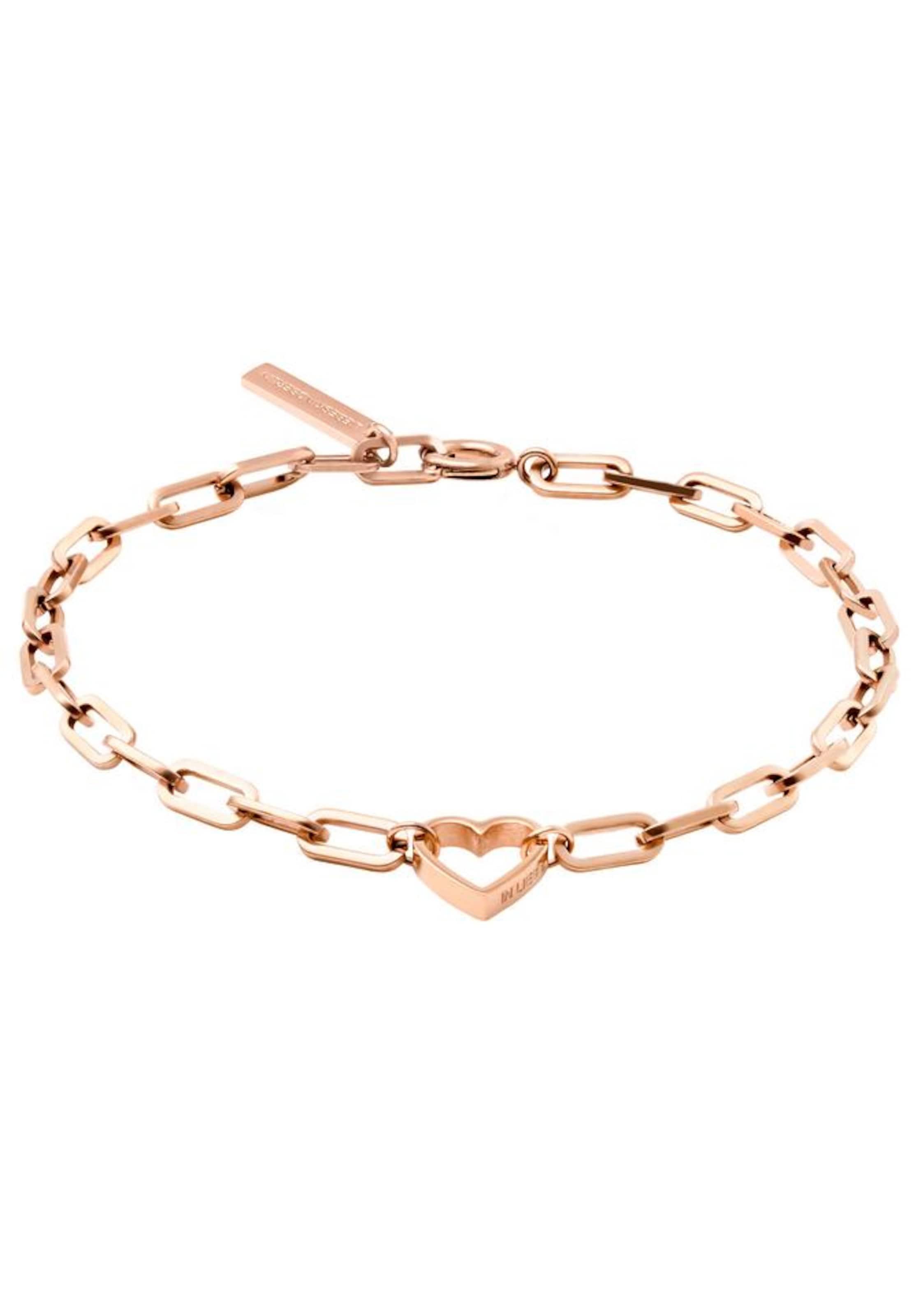 0345 Rose Bracelet 20 Or En 'lj Liebeskind Berlin b Herz' cl1TFJK35u