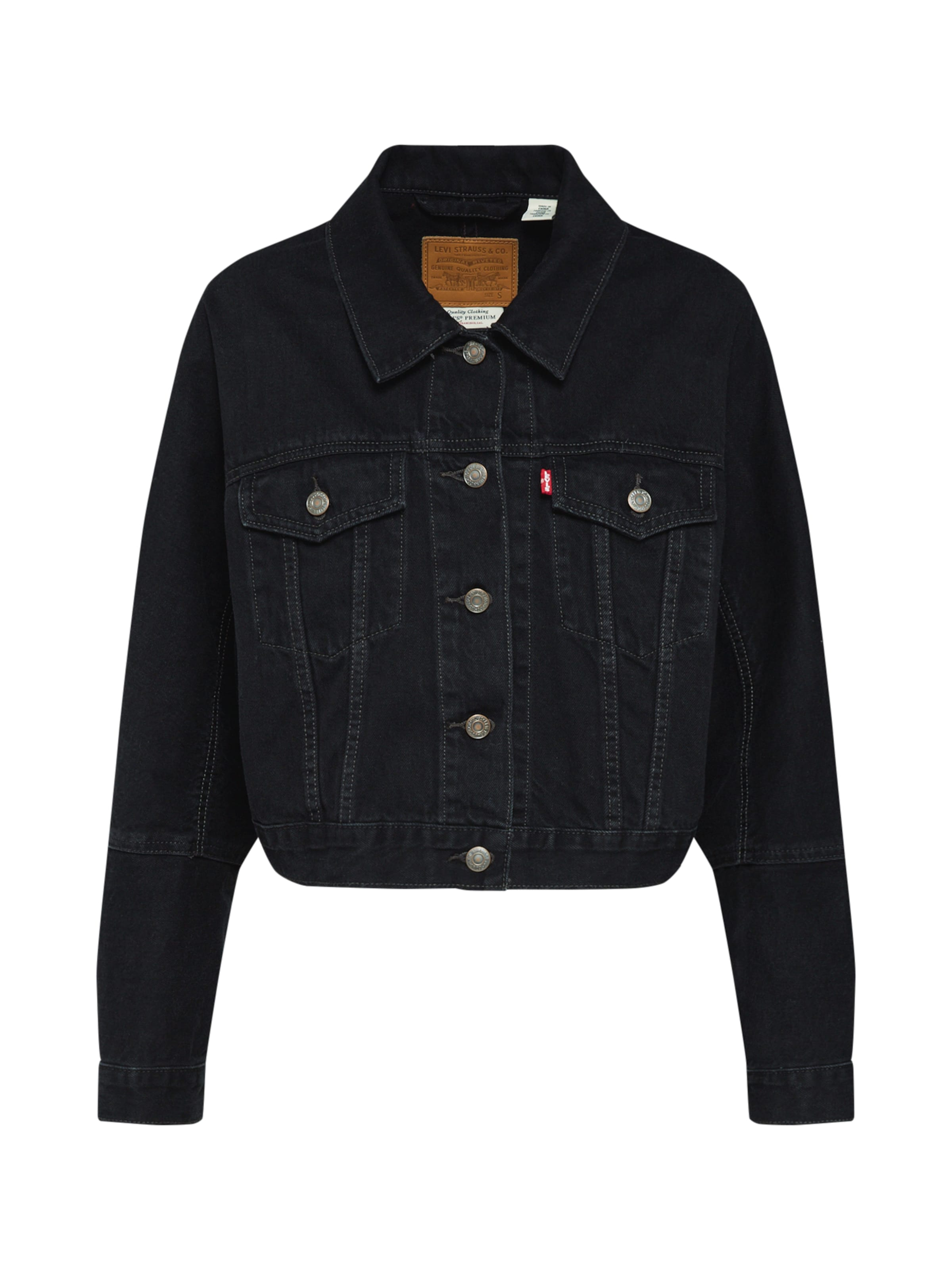 'future Levi's Vintage' Jacke In Black Denim 8Pn0ONwkXZ