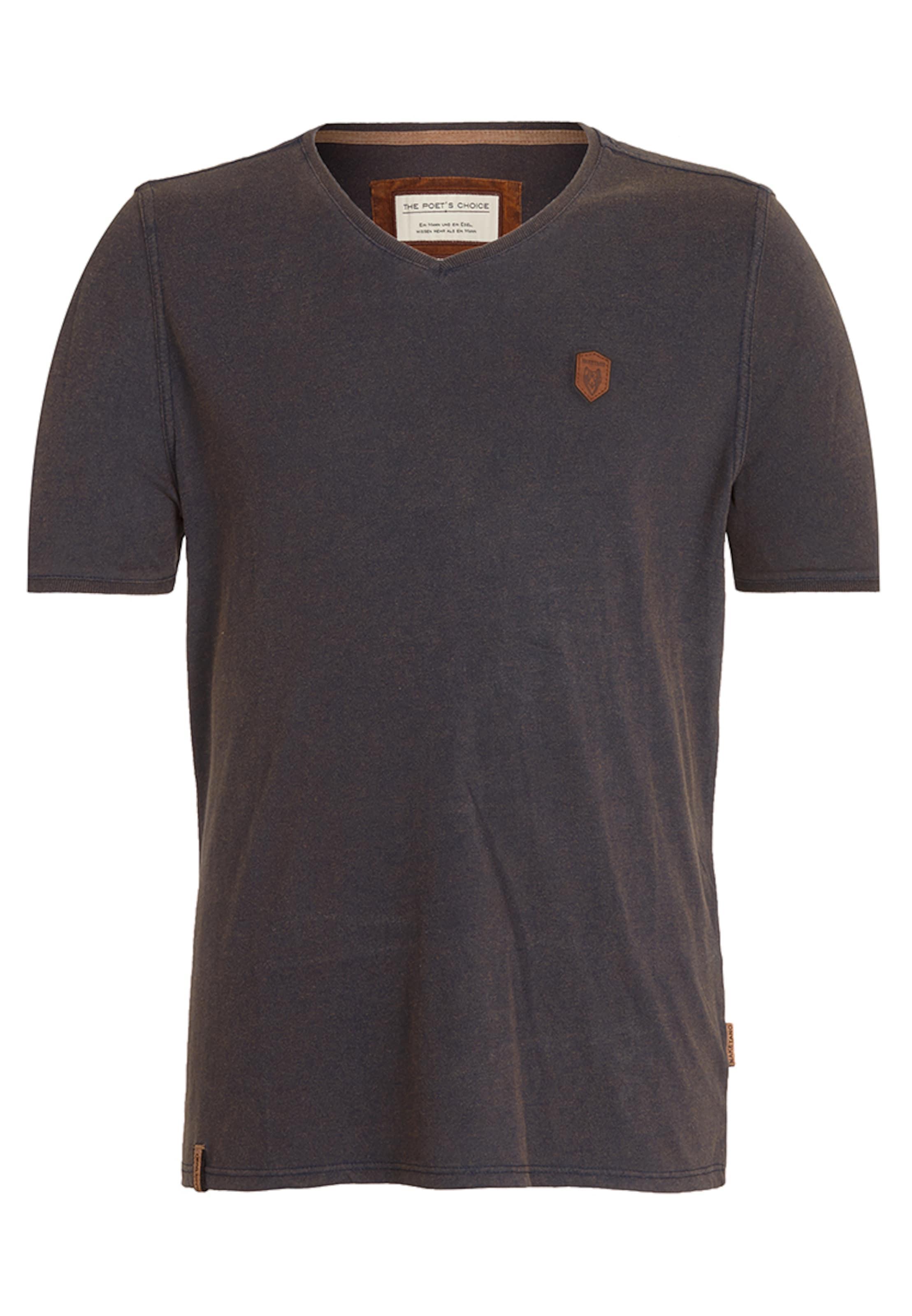 T Greige Naketano shirt 'schimpanski' En qSc5Aj34RL