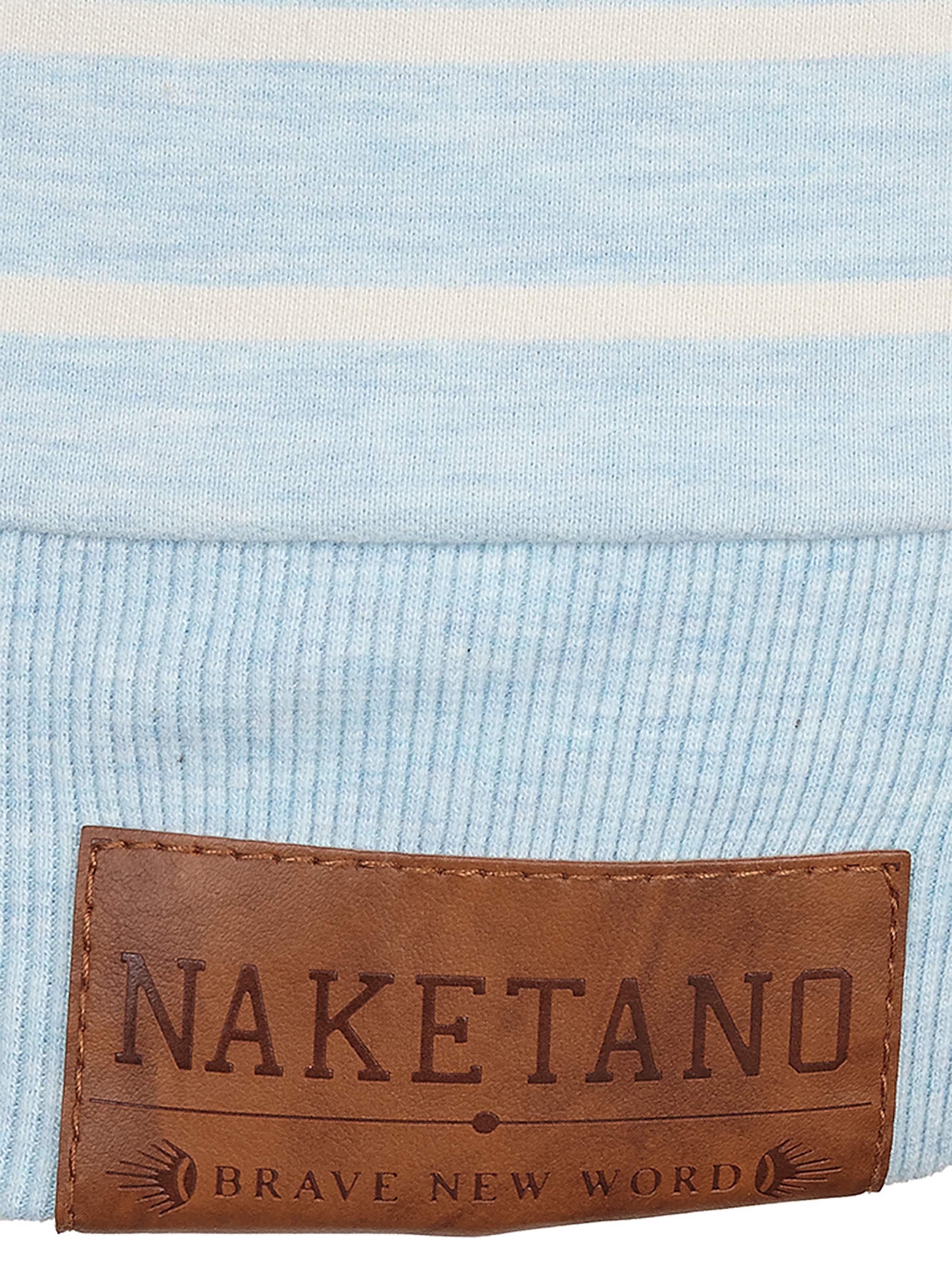 Magelan' 'rap shirt Naketano En Sweat ÉcruBlanc JlKF1c