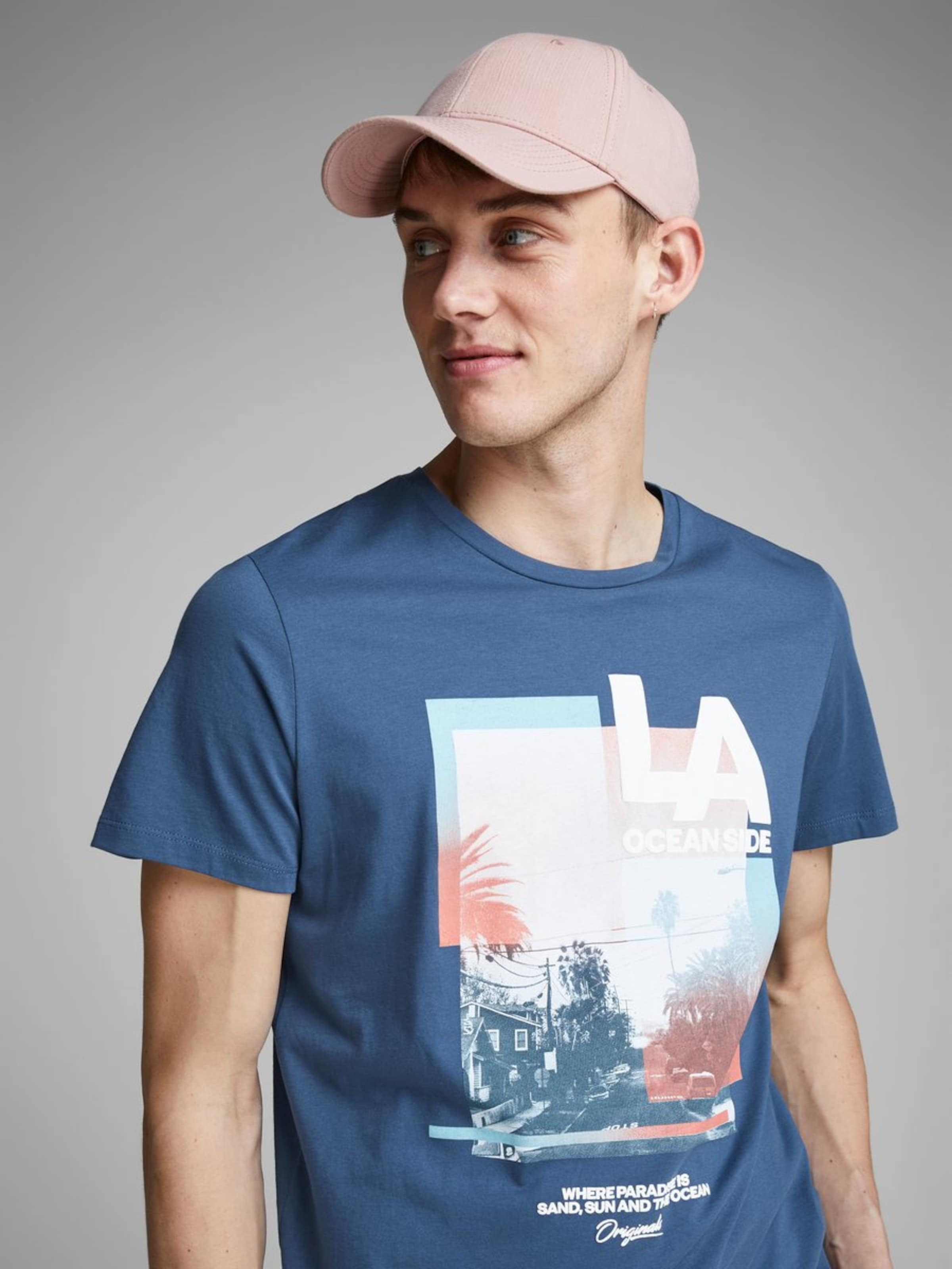 Jackamp; Mélange T En De CouleursBlanc Jones shirt WEDYb9e2IH