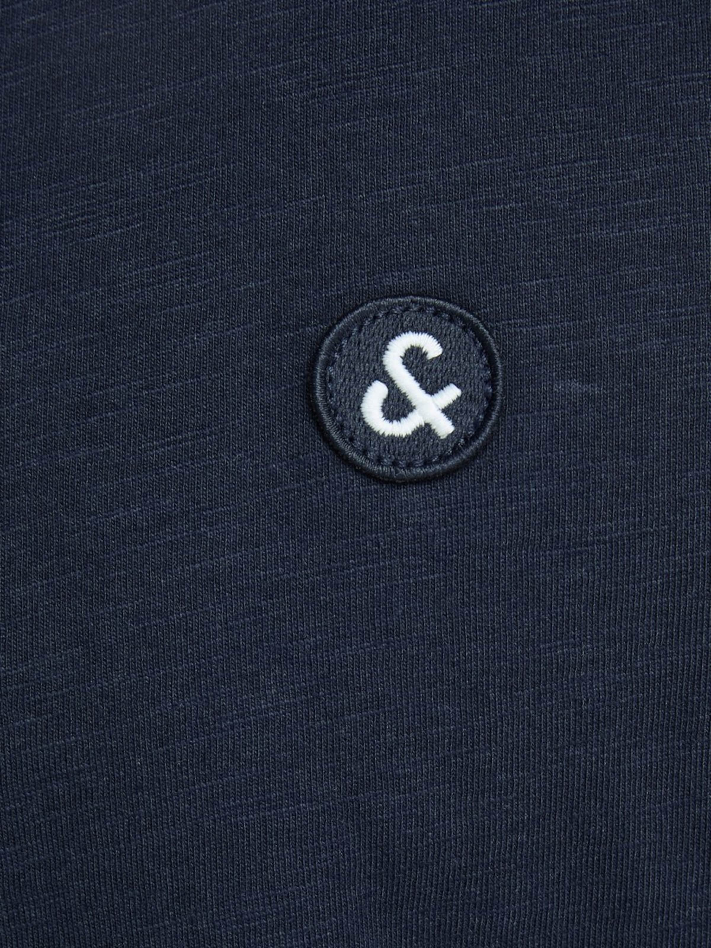 Jones shirt T En BleuGris Jackamp; Chiné Blanc 1FKJlc