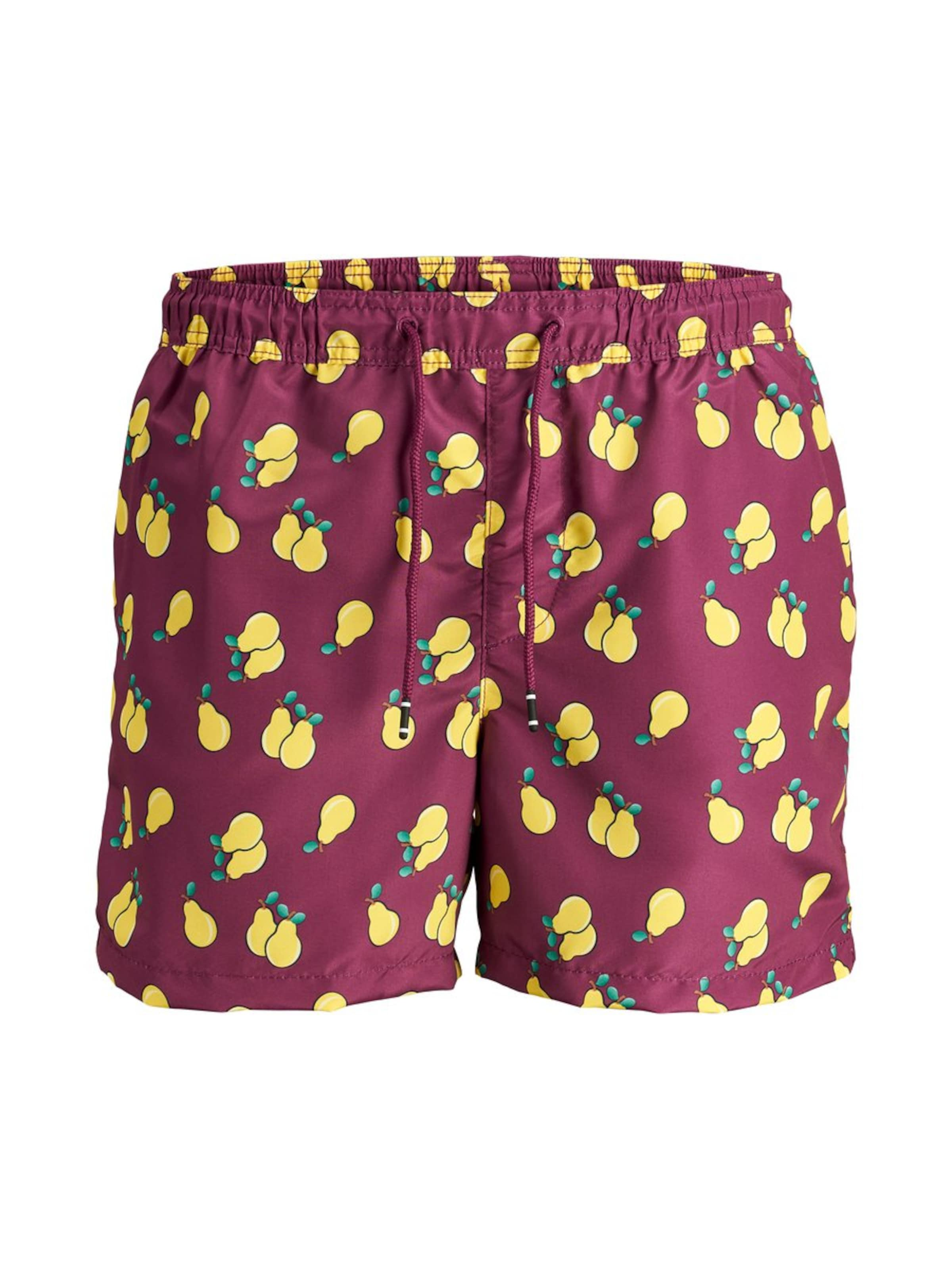 'jjicali Fruit' De Jackamp; Jjswim Basalte Shorts Bain En Jones Akm MarronGris Yyb6fg7v