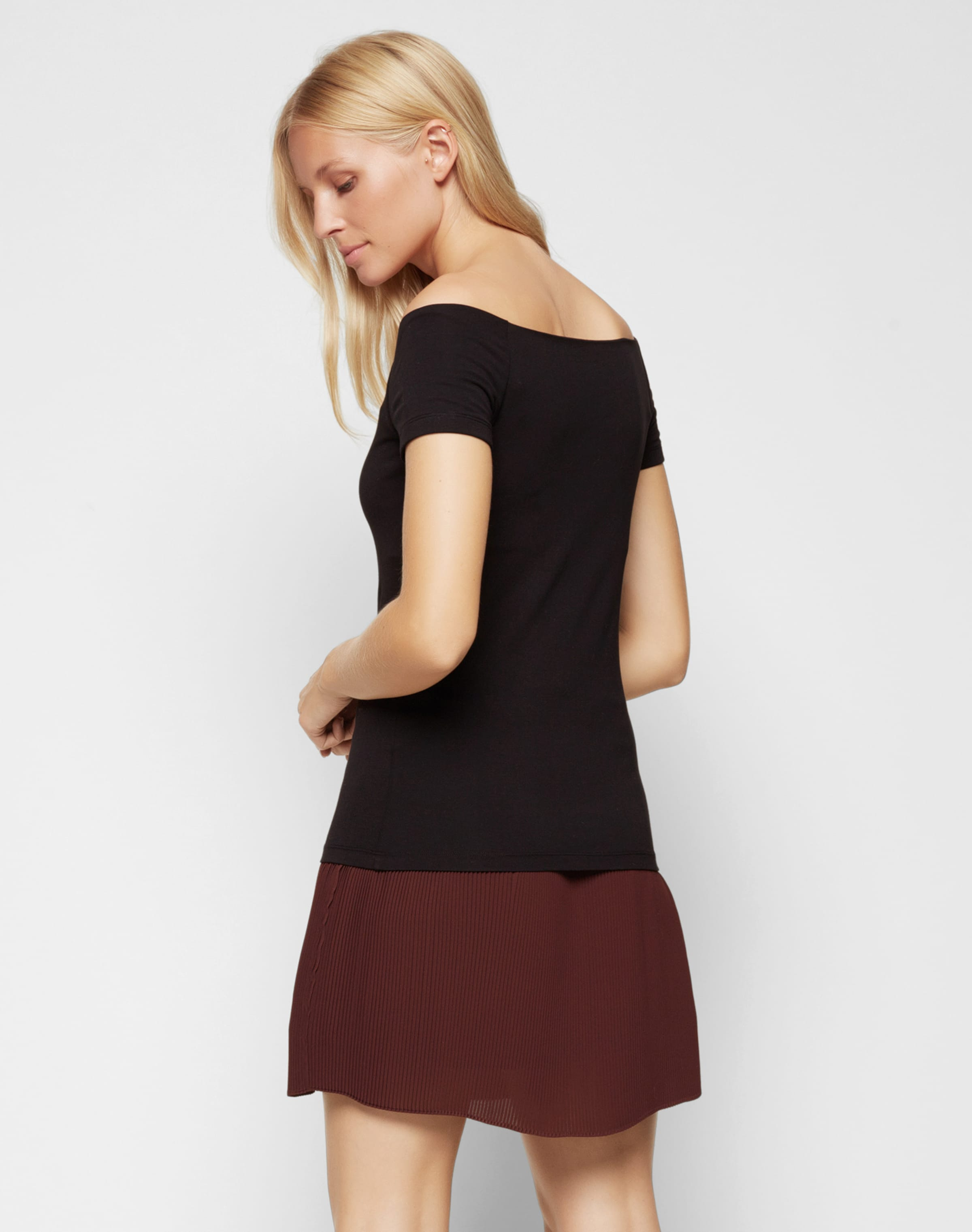 Samsoeamp; En 'nana' Noir shirt T kPZOXiu