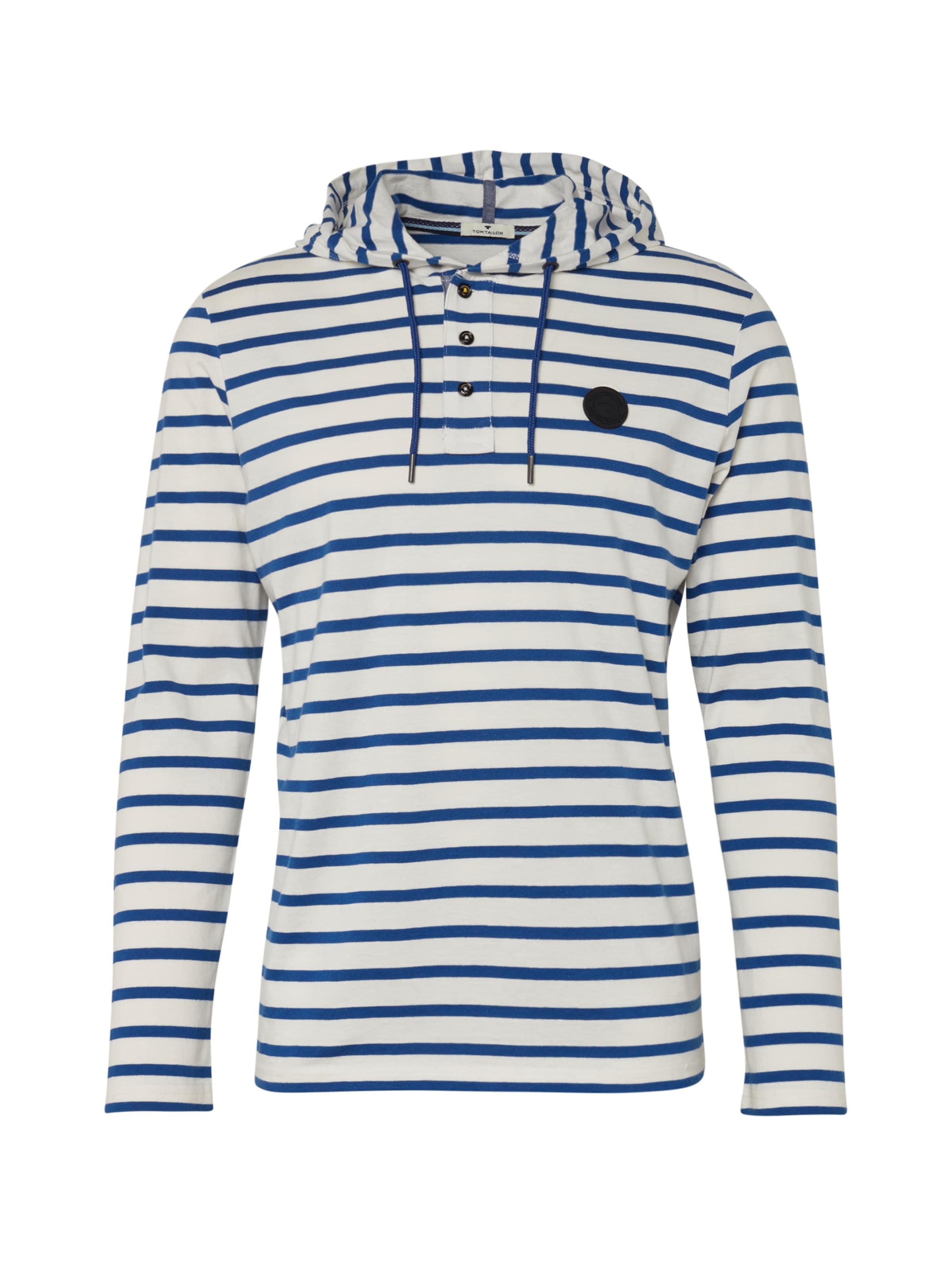 Tailor Tom shirt BlauWeiß In T BeCEWQdxor