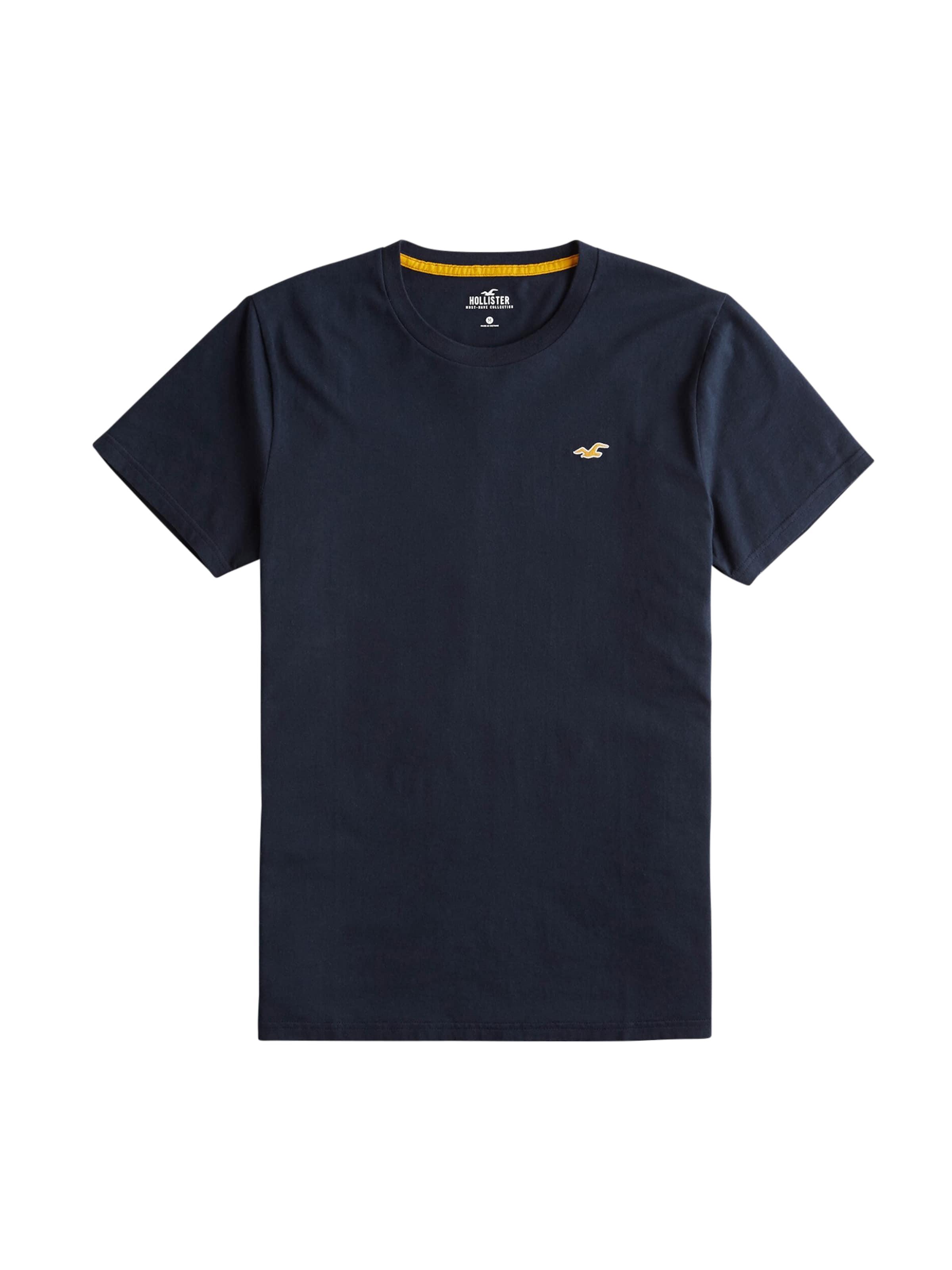 shirt En Bleu Hollister T Marine m8yvwnN0O