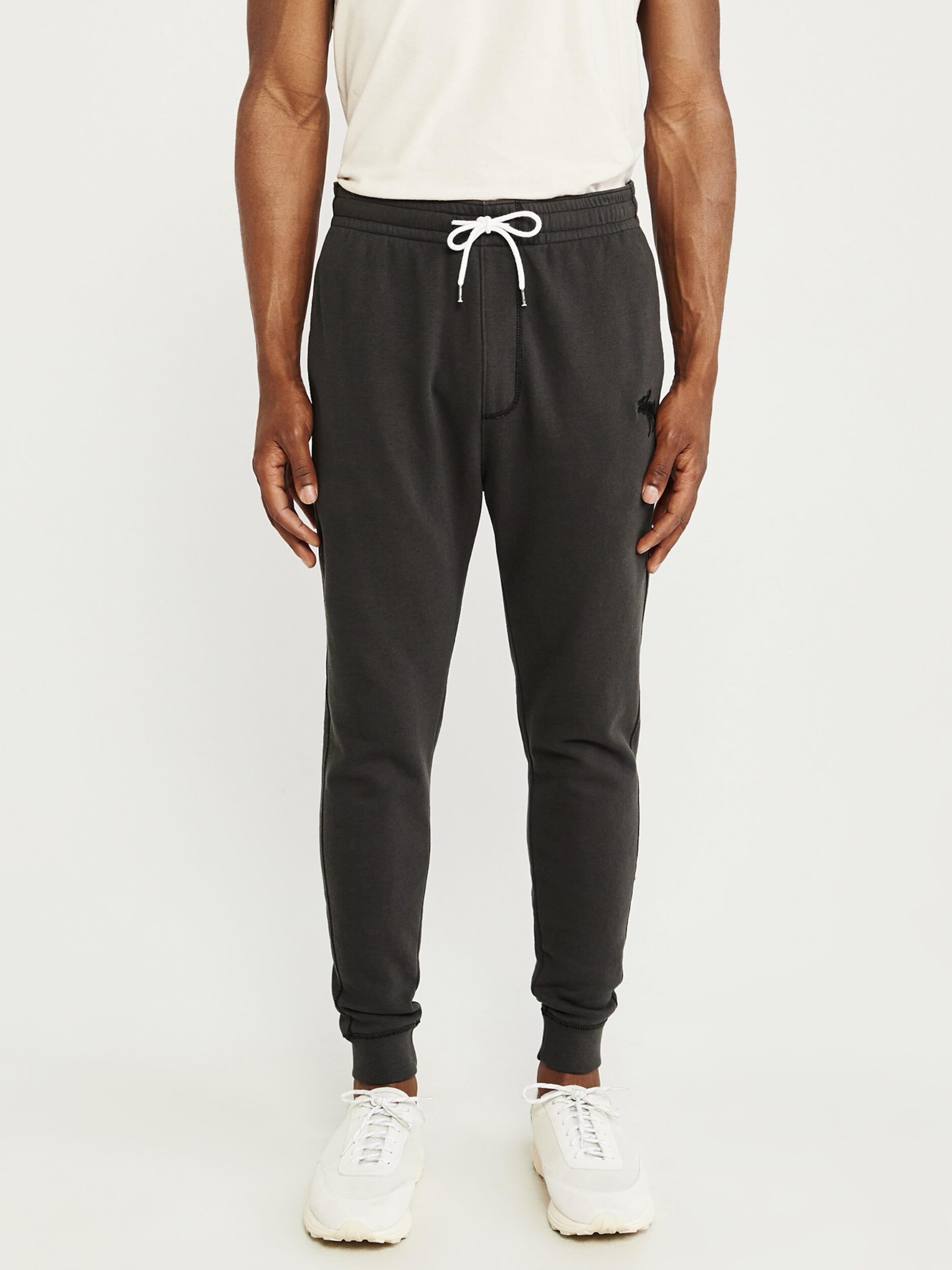 Pantalon Pantalon Fitch Abercrombieamp; Abercrombieamp; En Fitch Fitch Abercrombieamp; Noir En Noir ukiPXZ