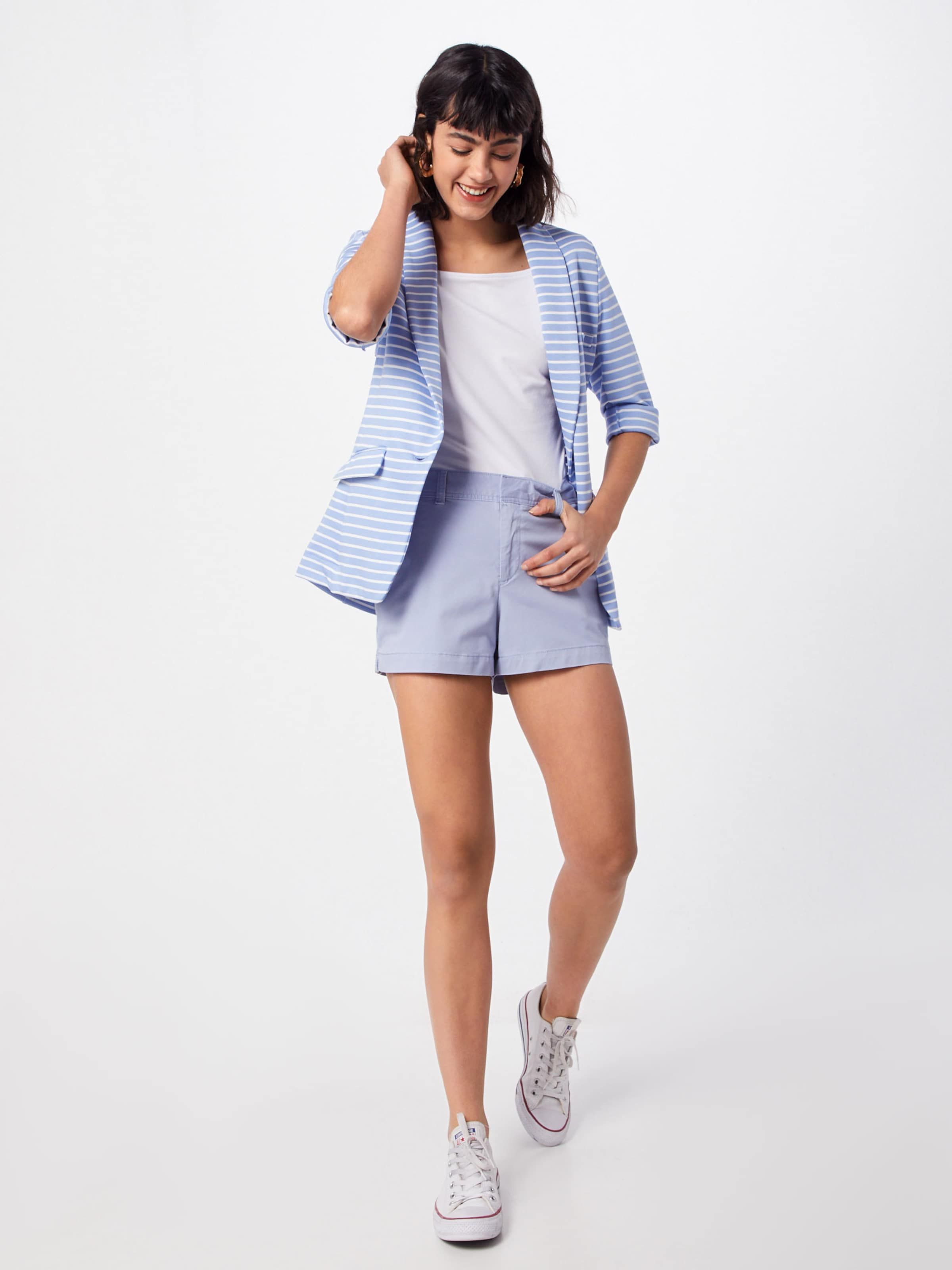'city Embroidery' Pantalon En Short Bleu Gap IYfgmby76v