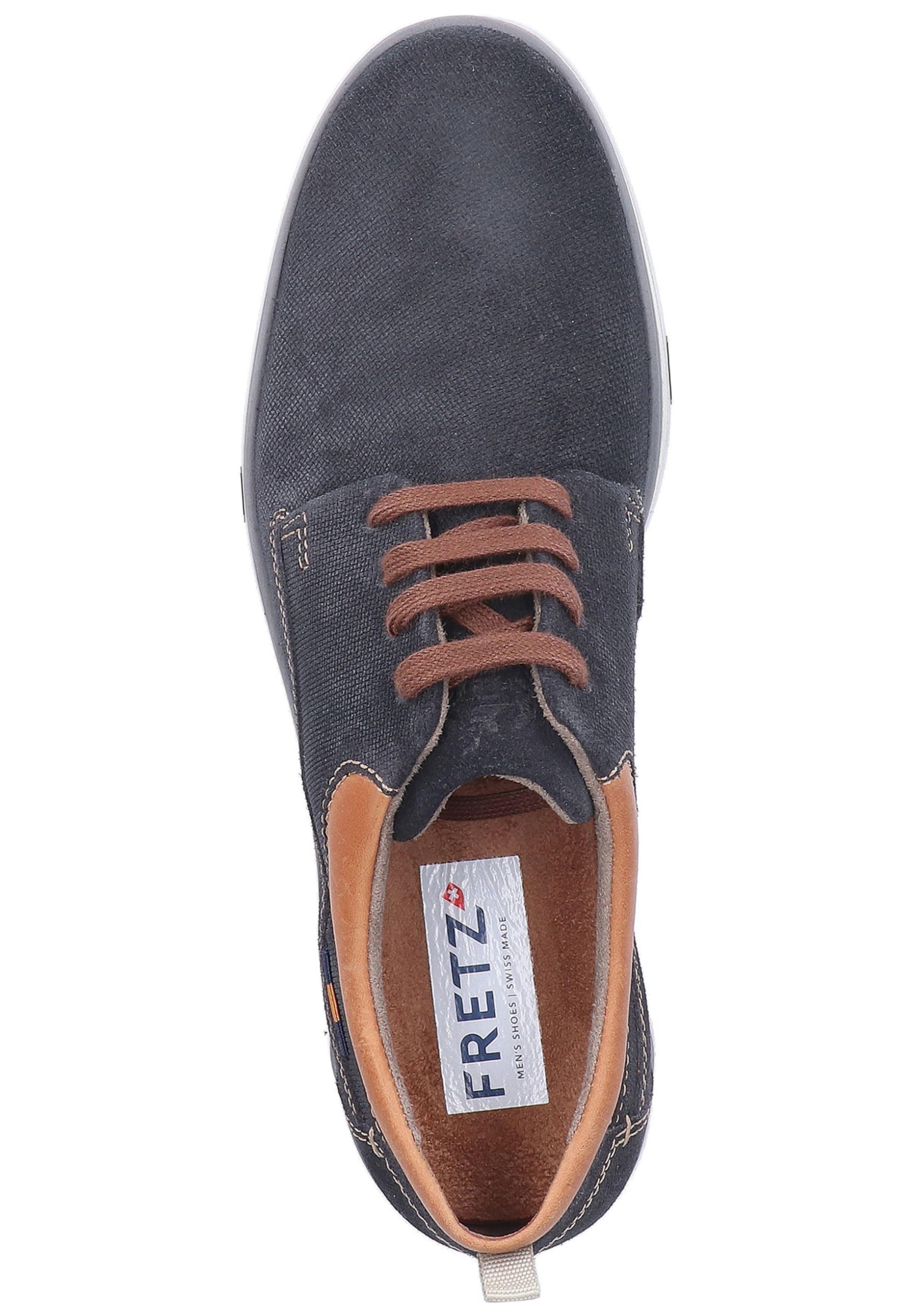 Bleu En Fretz Lacets Men À Chaussure fY7gbv6y
