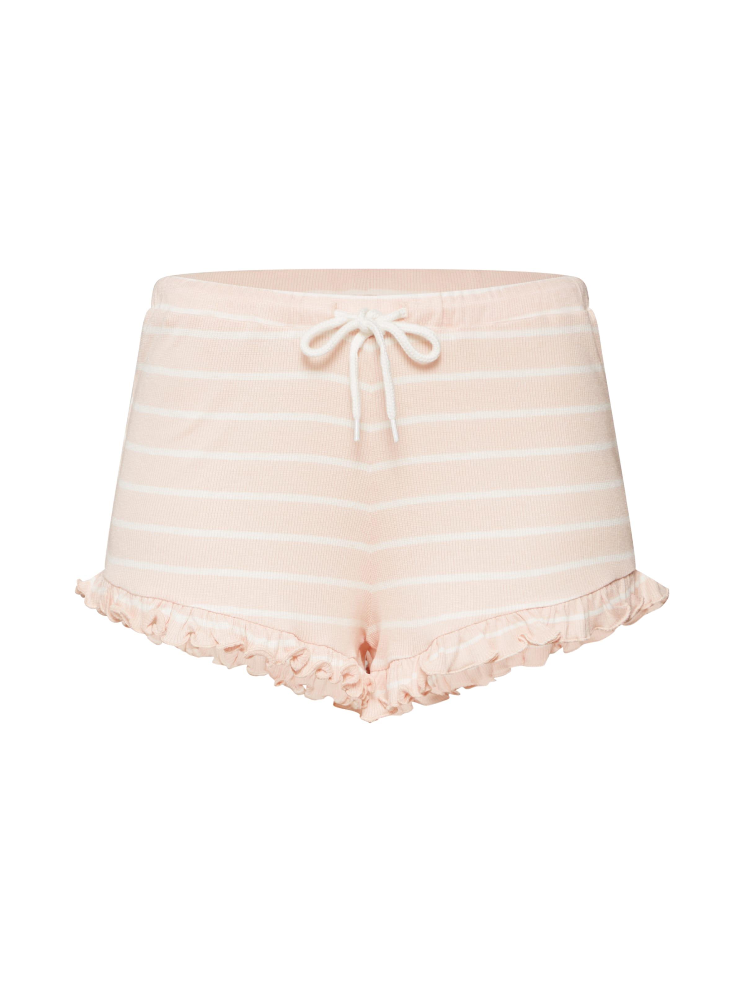 Pantalon Review D 'ruffle jersey Rose Str En Short Hose' uPXikZ