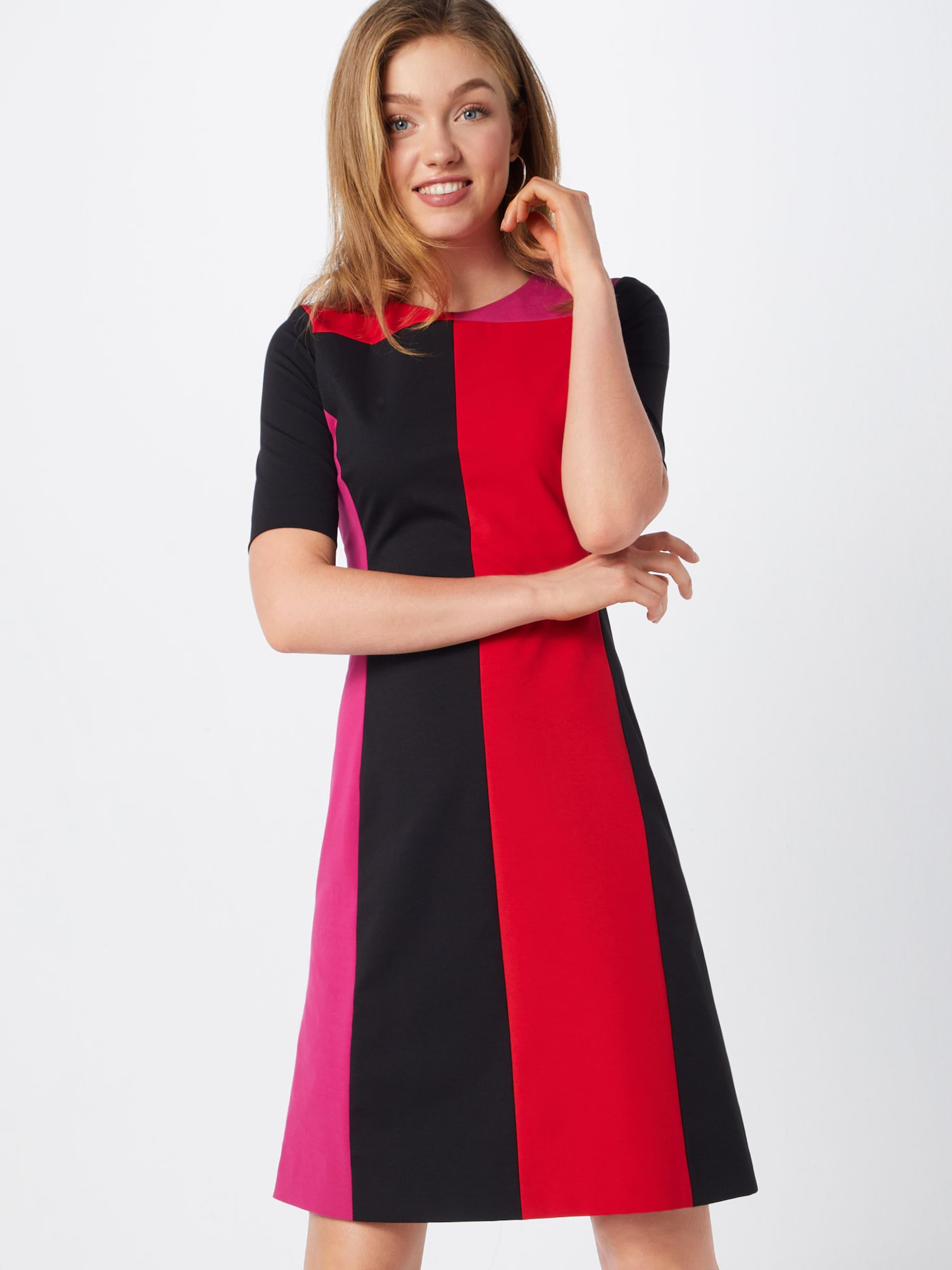 René Schwarz Kleid 'e010s' PinkRot In Lezard f6gvYb7y