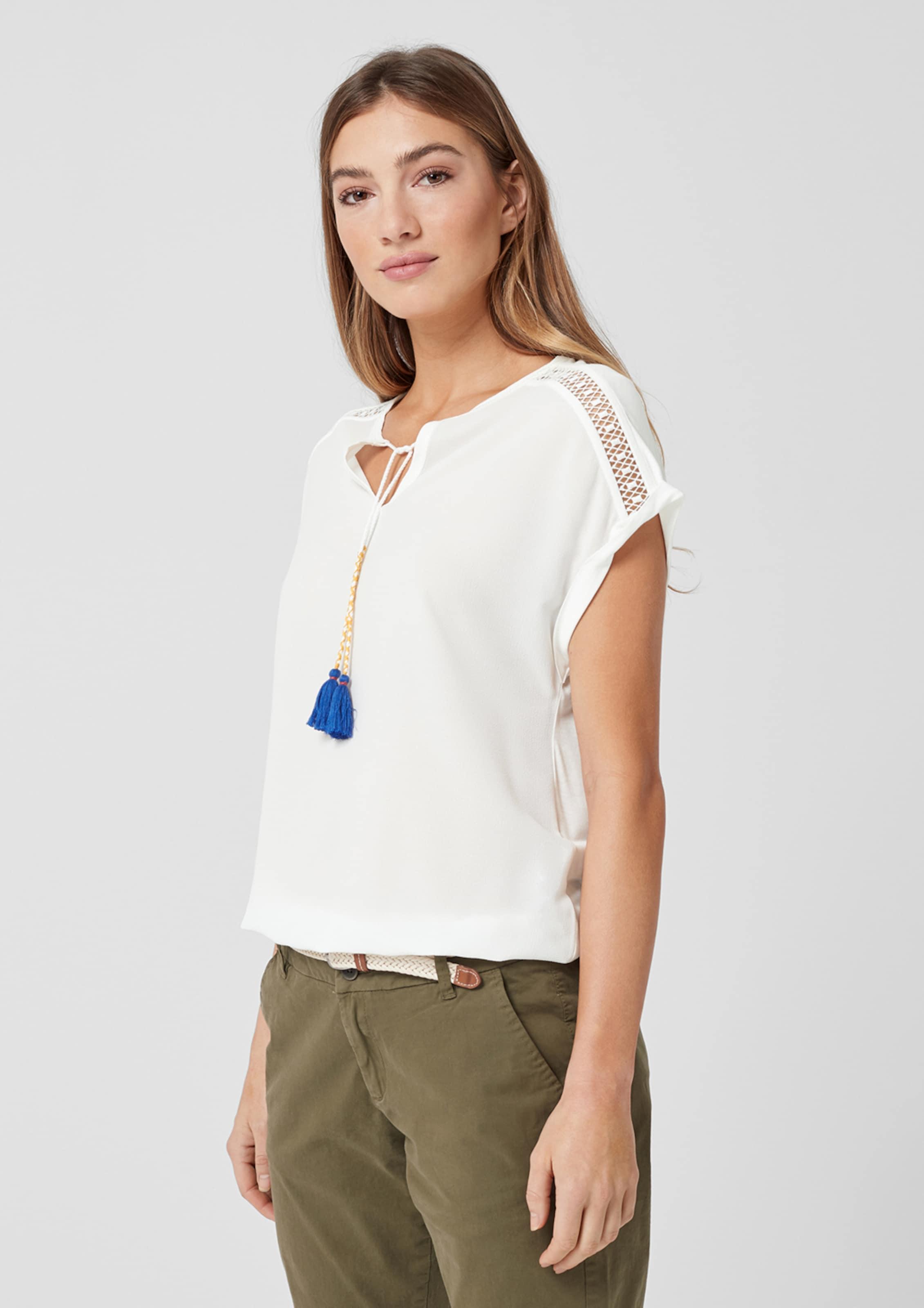 S Red Blanc T shirt Label oliver En n0PwOk8