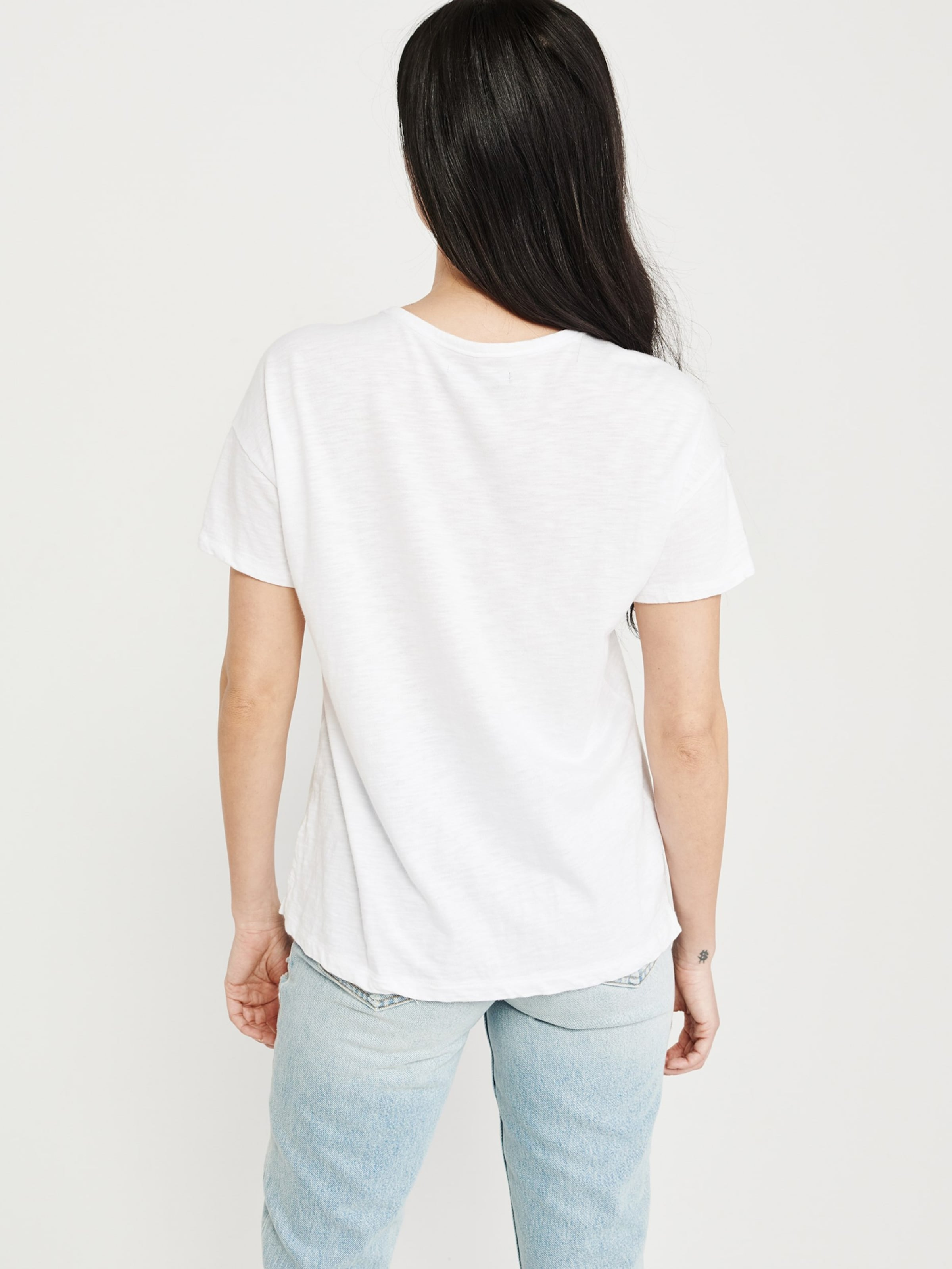 Shirt Shoulder Drop ss 'sb19 Tee Abercrombieamp; Weiß Neutrals' Fitch In rxoWBeCd