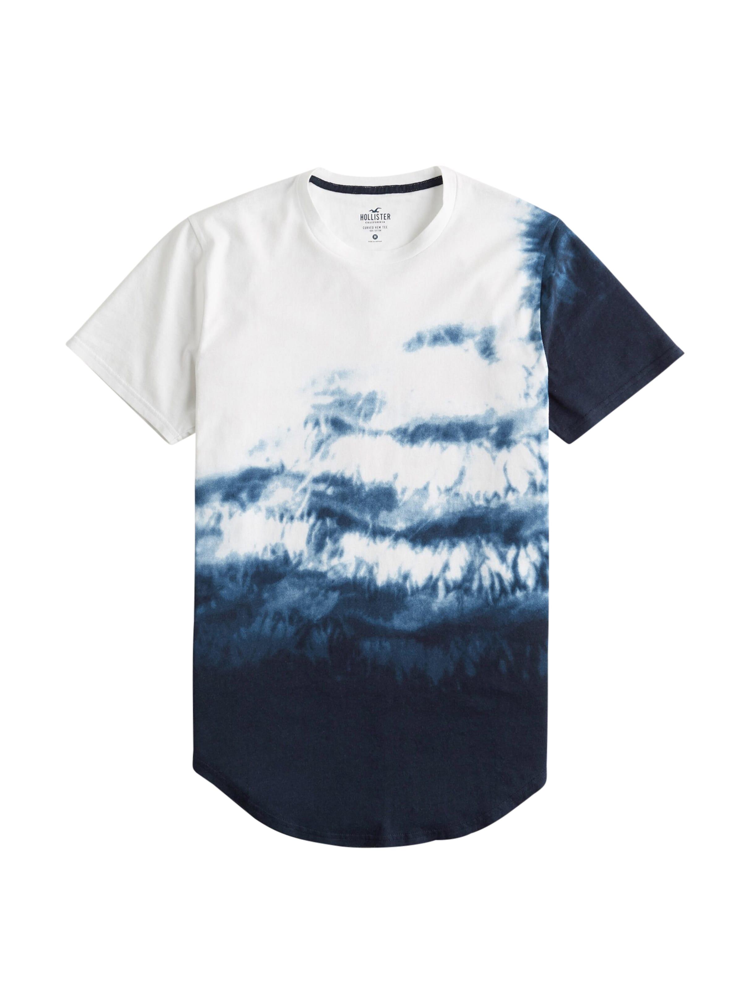 T En shirt Gris Hollister Argenté j3A4LRq5
