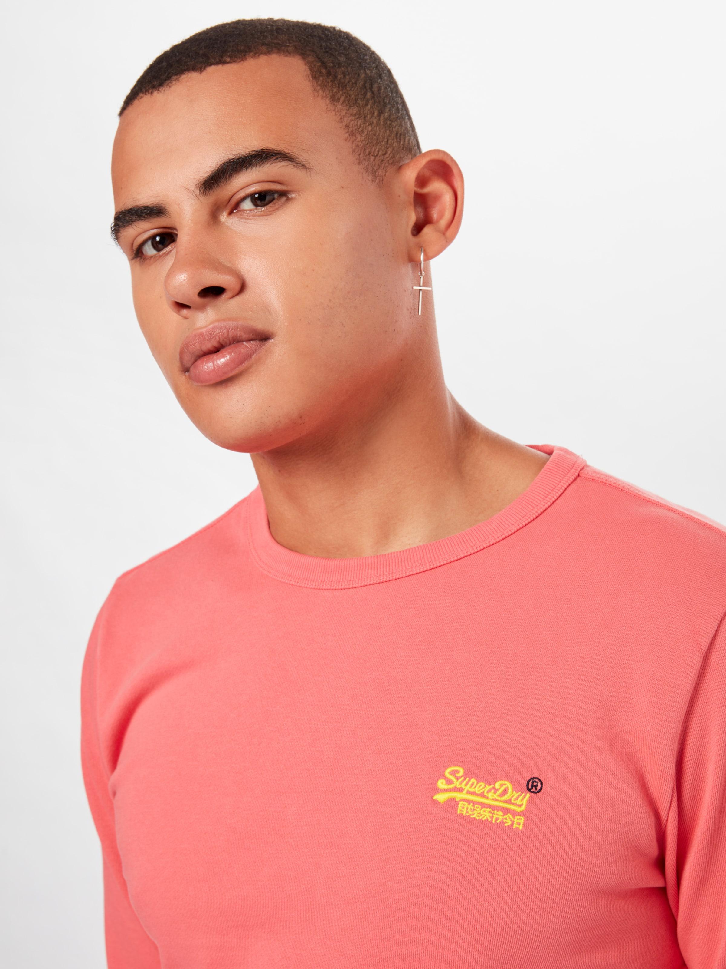 Label Turquoise Pastelline Sweat 'orange Superdry Crew' En shirt srdxBthQC