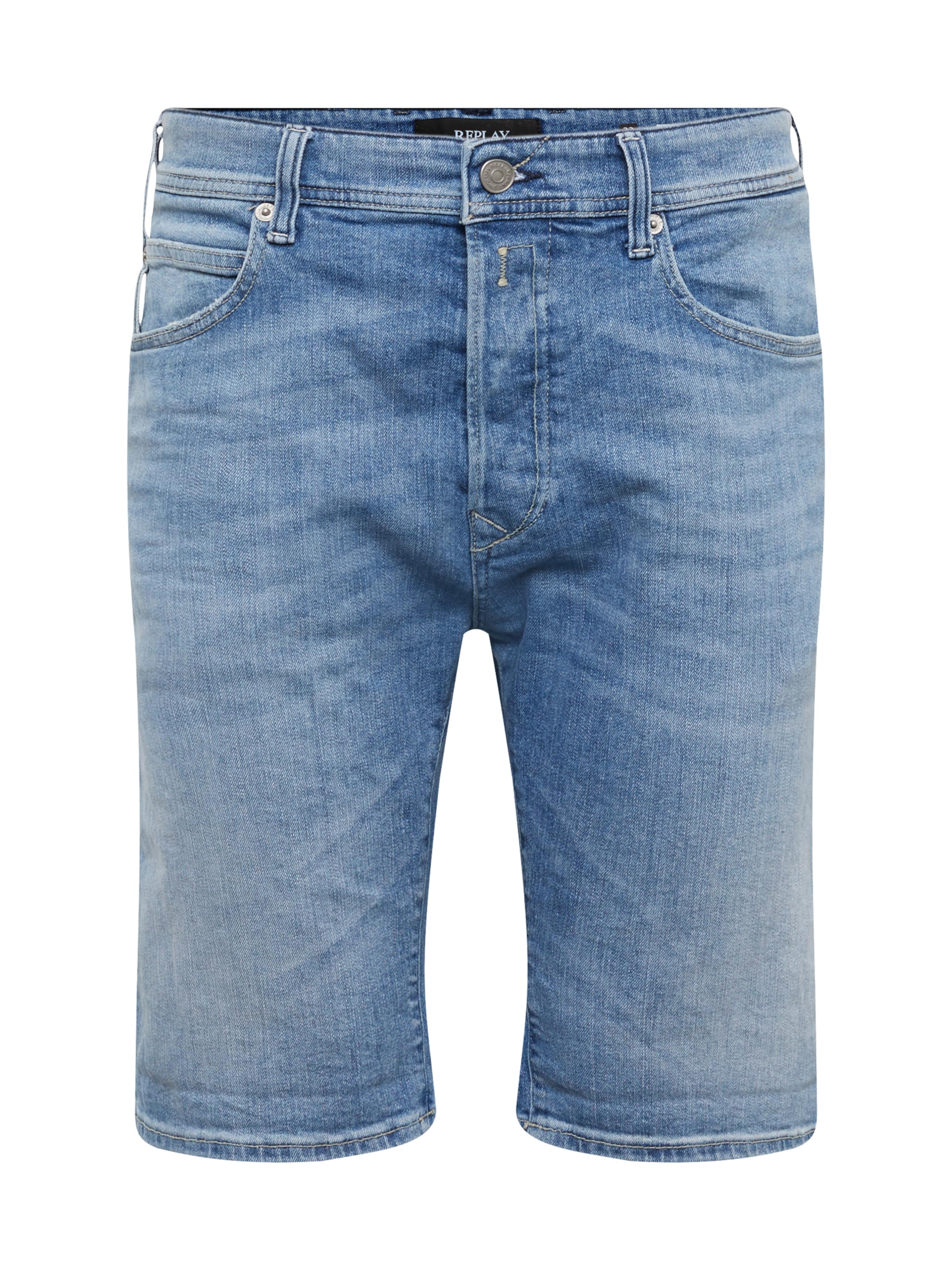 Replay Gris Jean 'rbj En 901 shorts' Denim 4jLcRA35q
