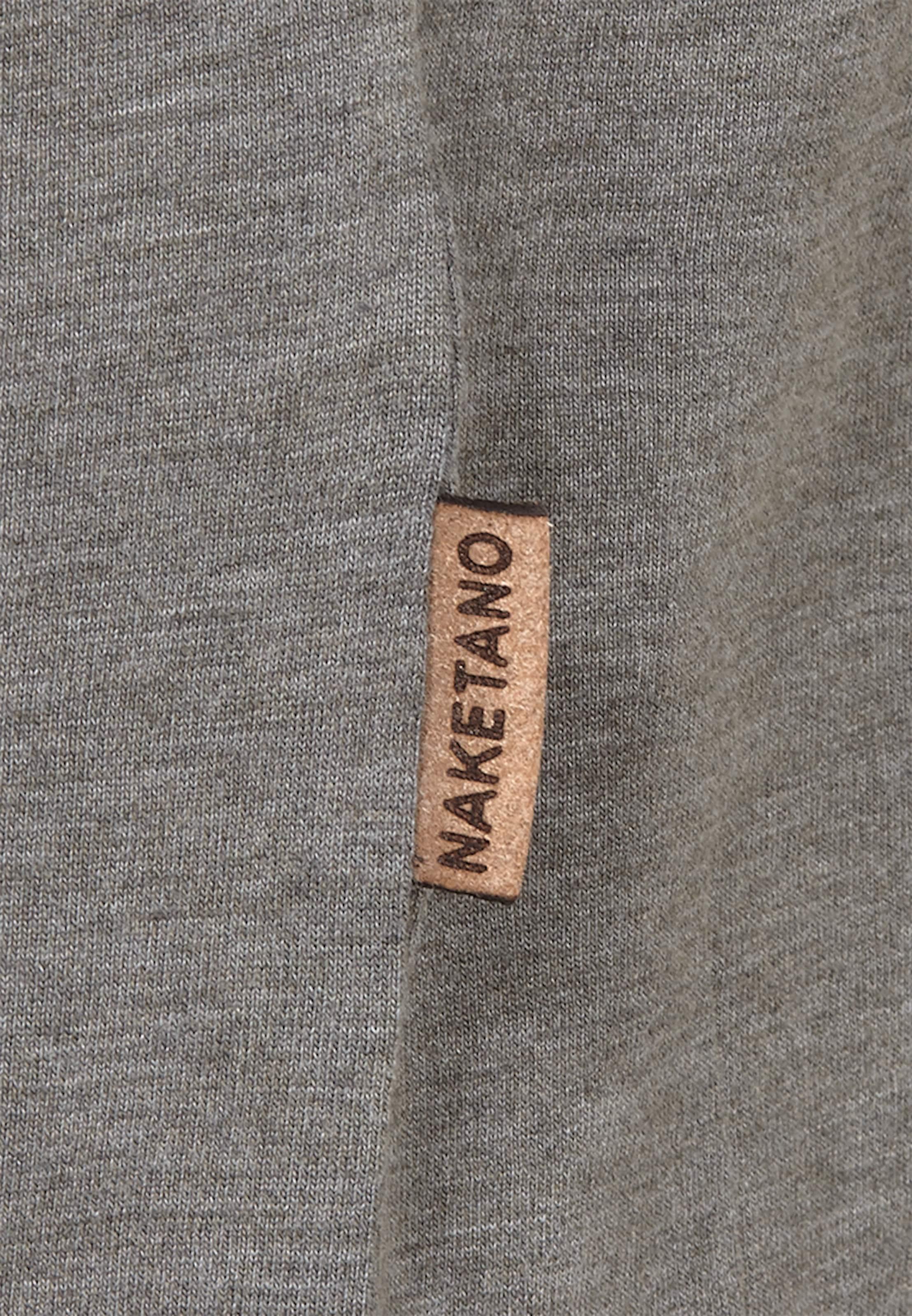 'creme Den Füßens' En Gris T Für shirt Naketano MpSUVz