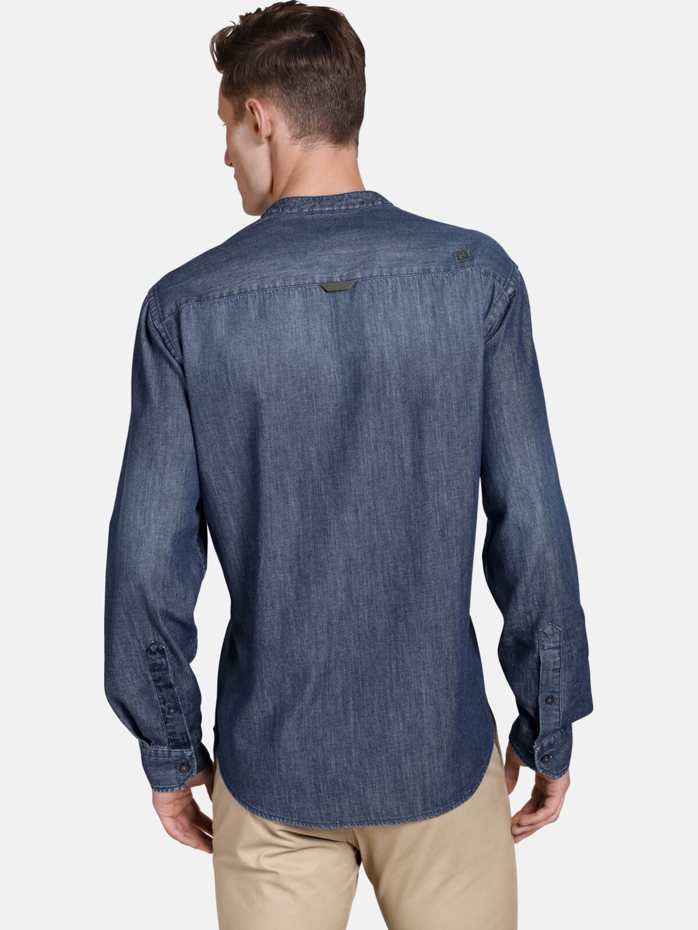 Blue Shirtmaster Denim In 'funkydenim' Jeanshemd WDEH29YI