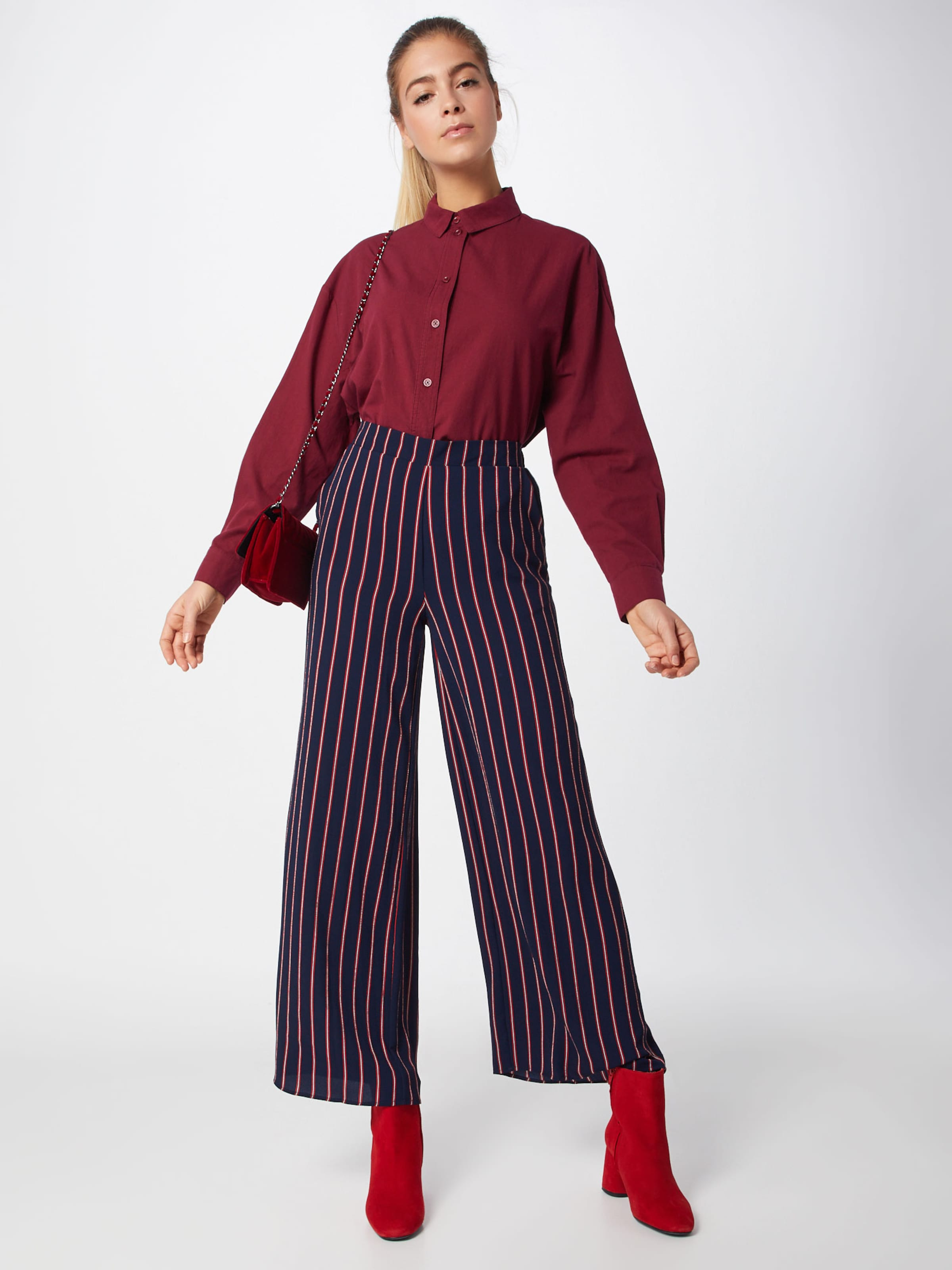'leonie' FoncéMerlot Bleu Object Pantalon En rQdoeWxBC