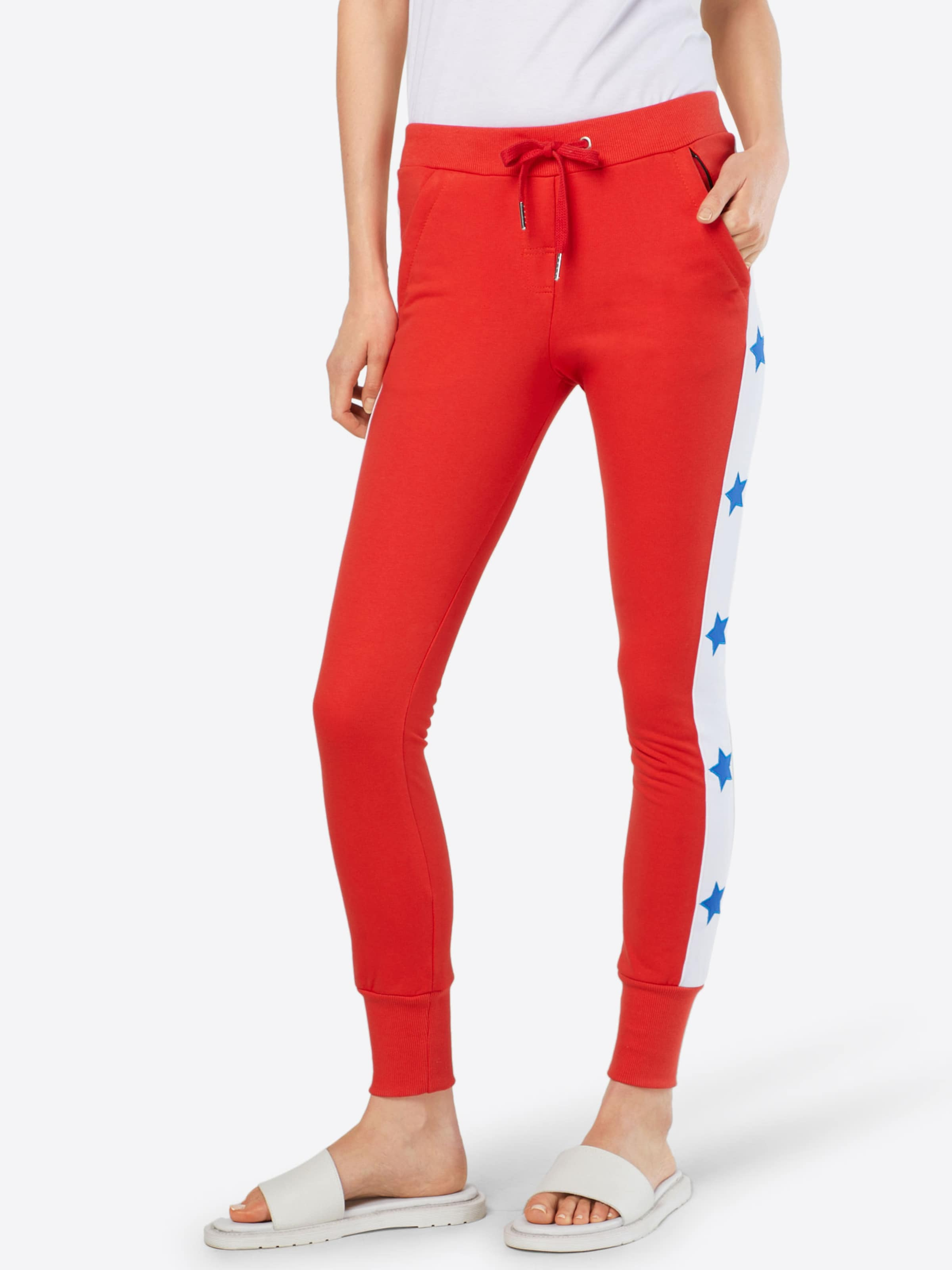 Pantalon Rouge Colourful 'stargirl' Rebel En USpzMVqG