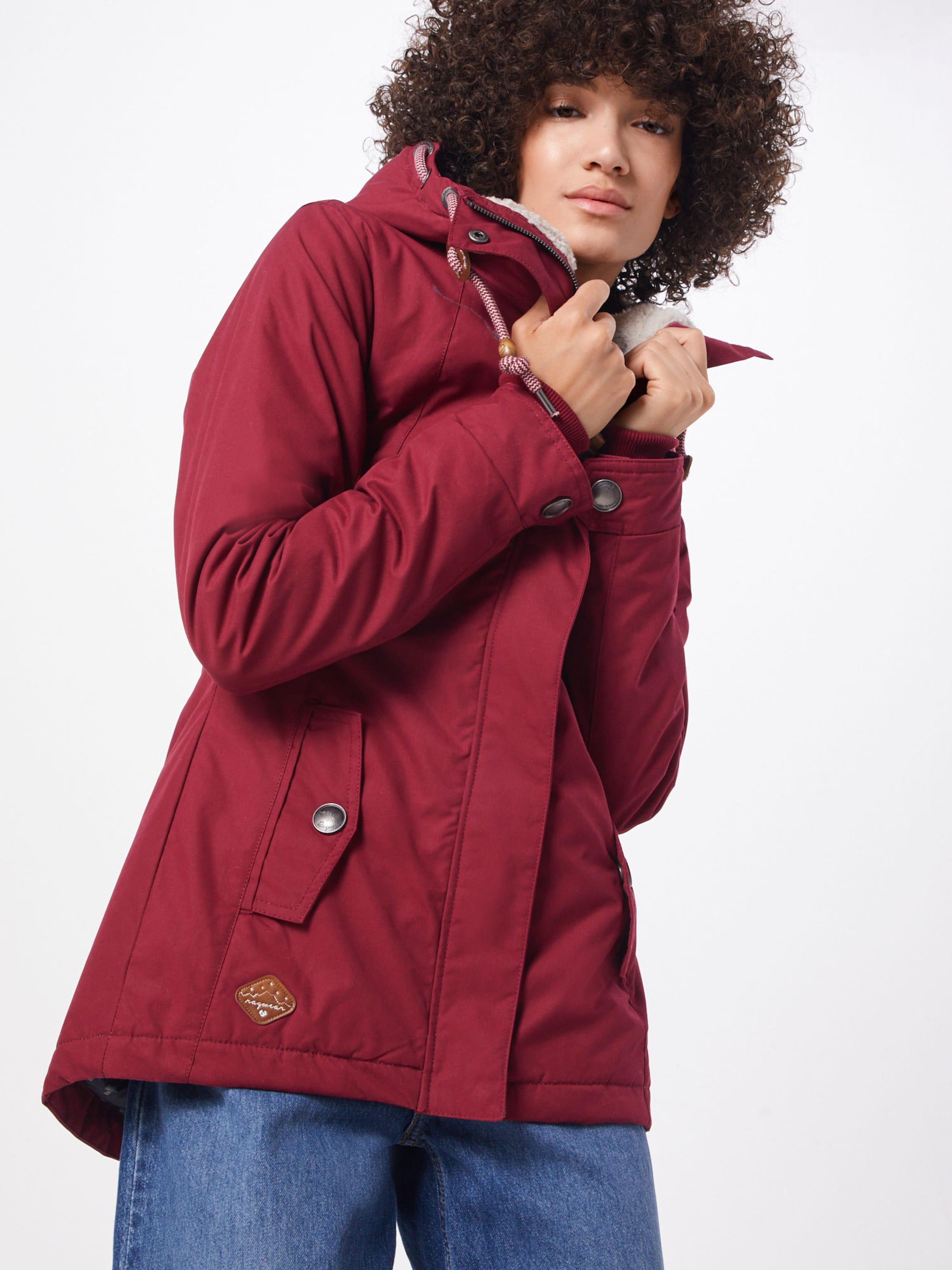 In In Jacke Ragwear Jacke Ragwear Weinrot 'monade' Weinrot 'monade' 1cKlFJ