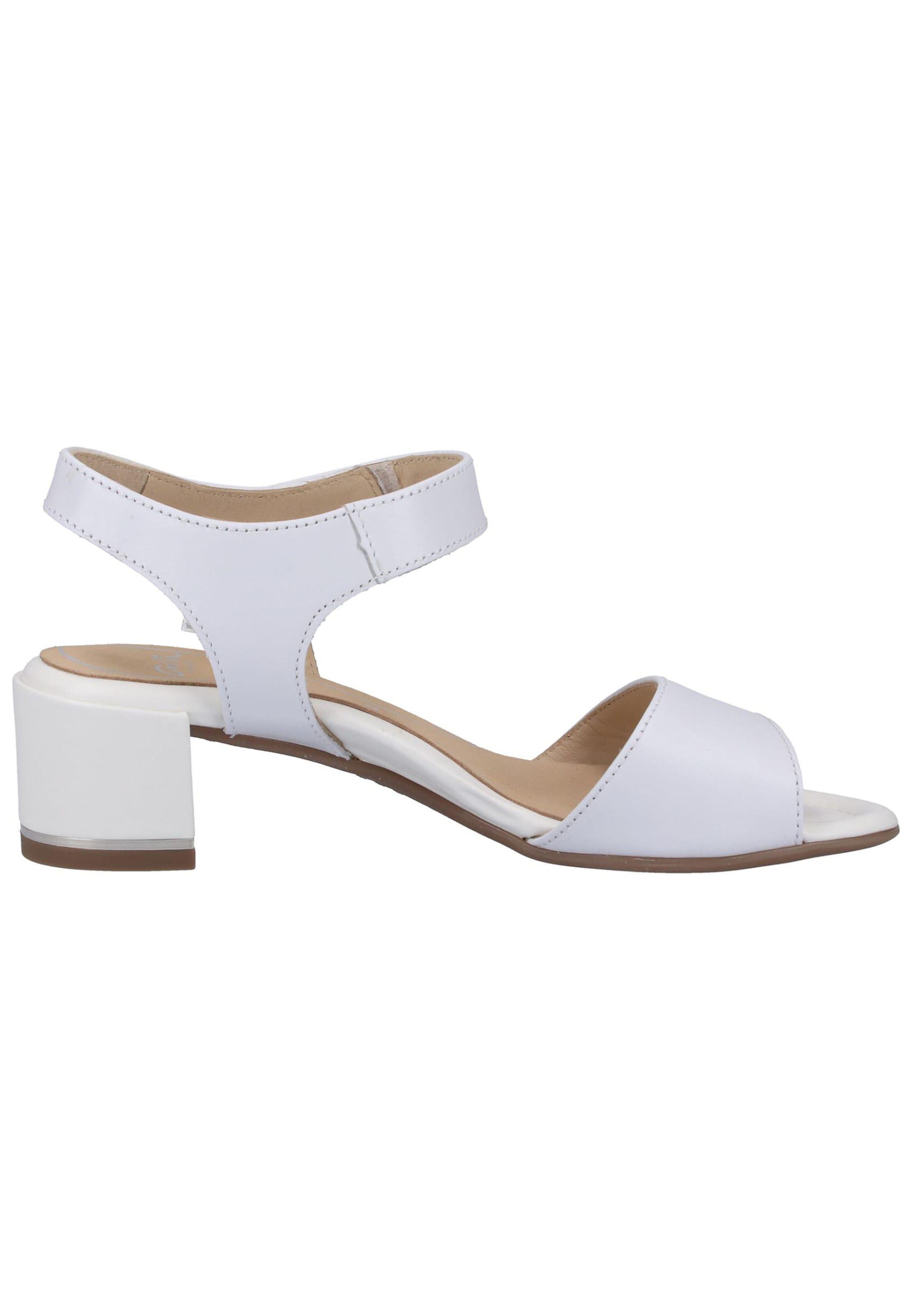 À Blanc Sandales Lanières Ara En jR54AL3q
