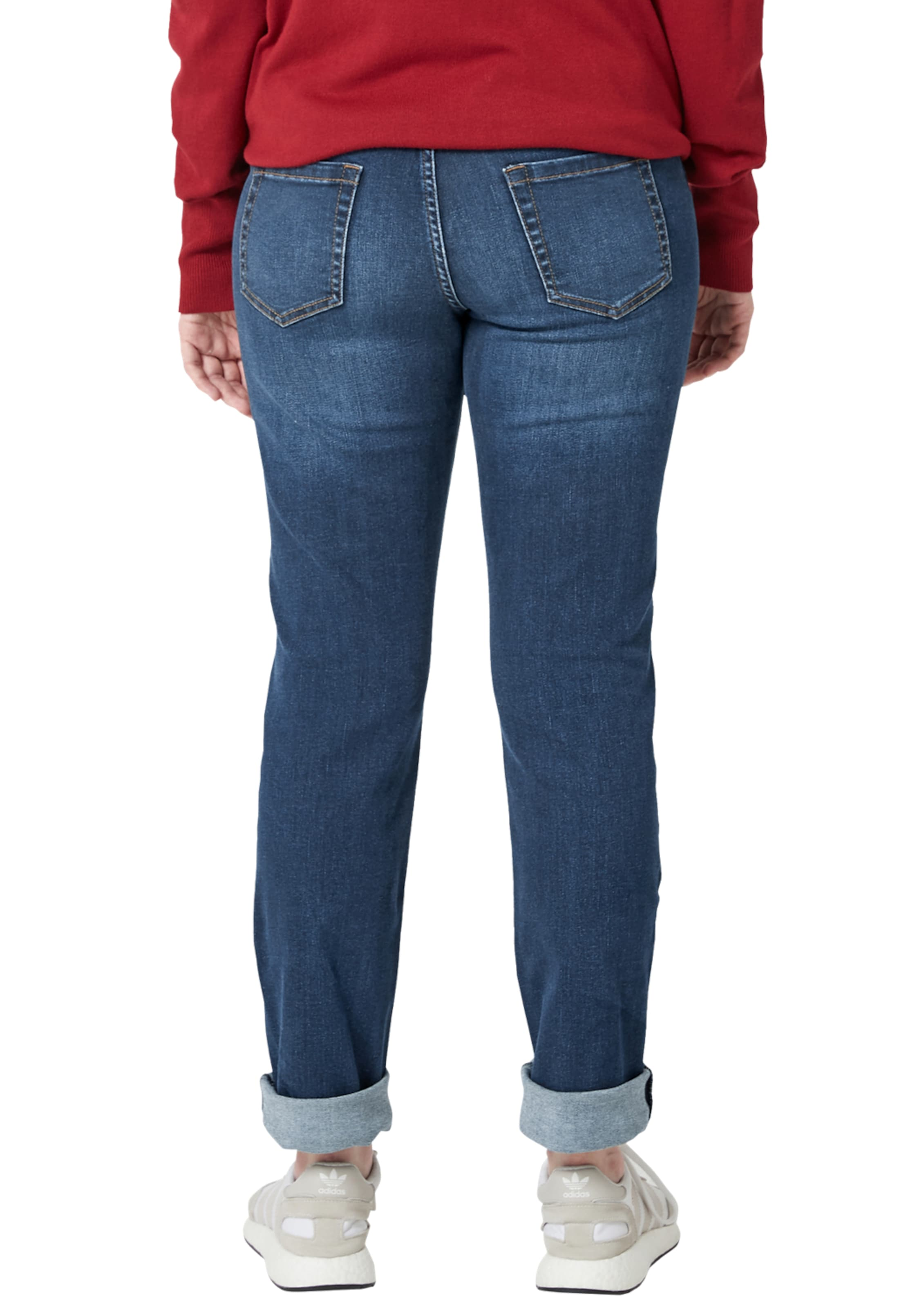 In Stretchjeans Triangle Denim Blue mIfY7g6yvb