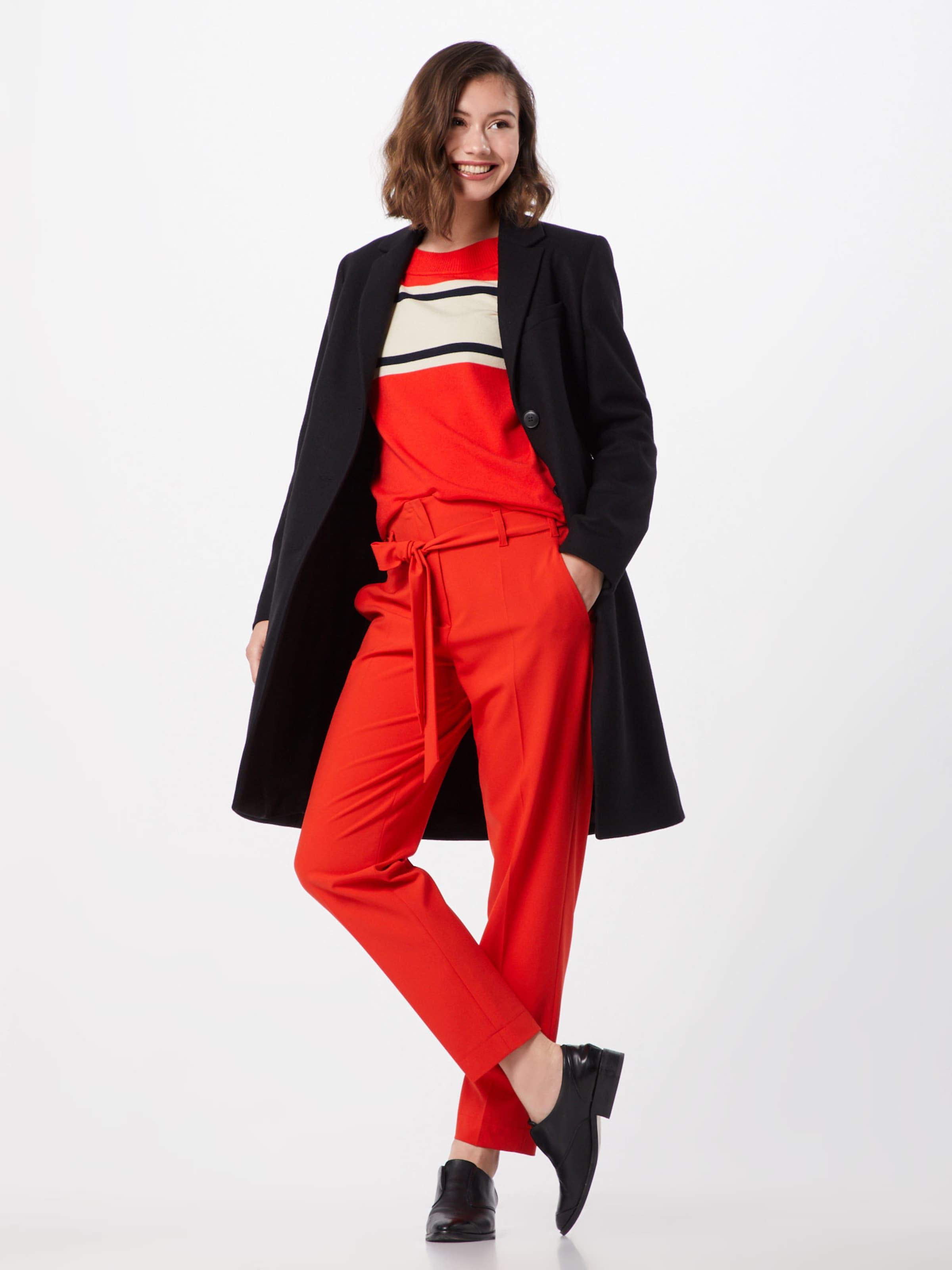 Pantalon À Laurel Plis '82018' En Rouge srdthQC