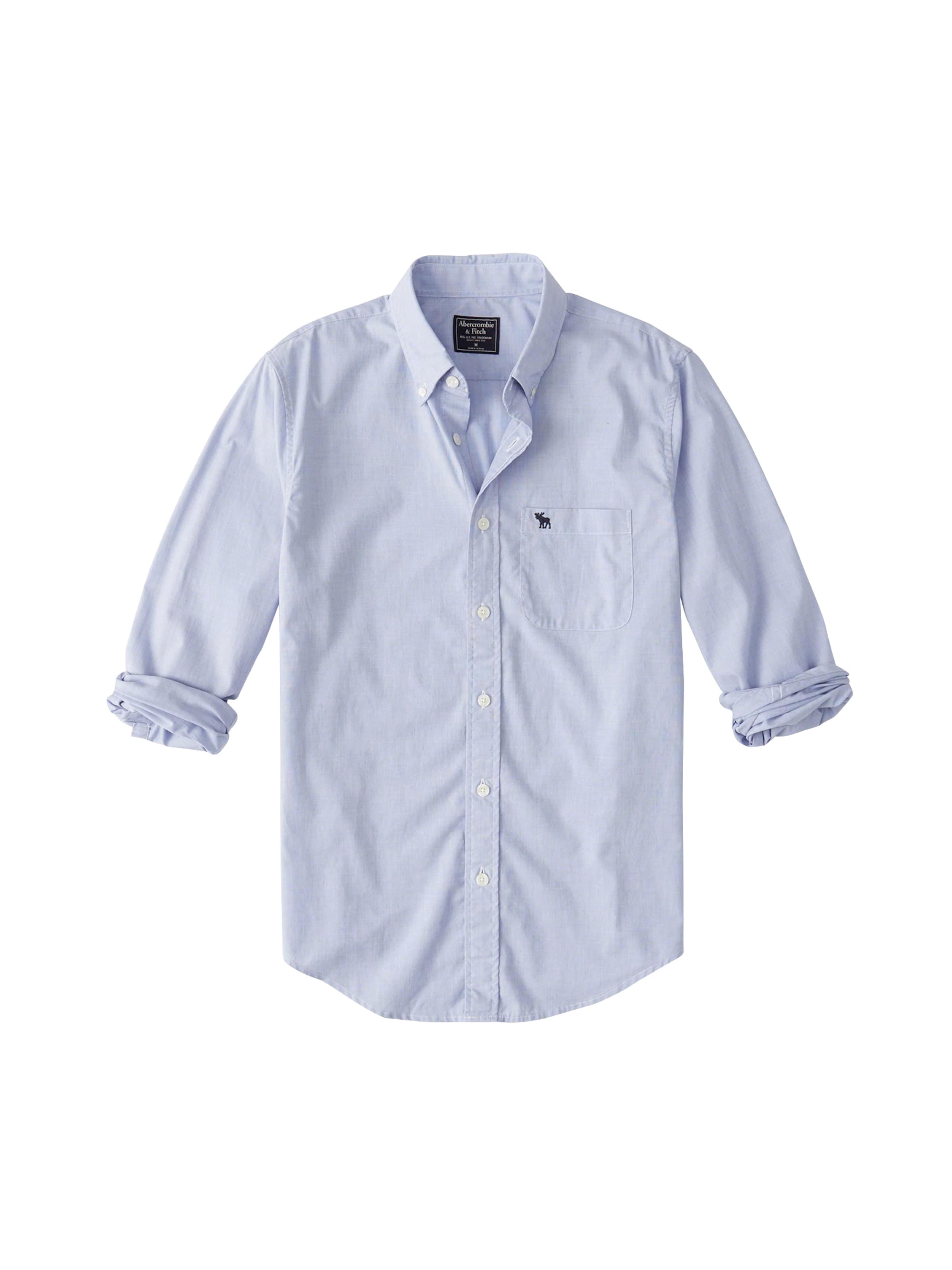 Update' Fitch Chemise En Abercrombieamp; Bleu Poplin Moose Shirt 'icon ZPuOikX