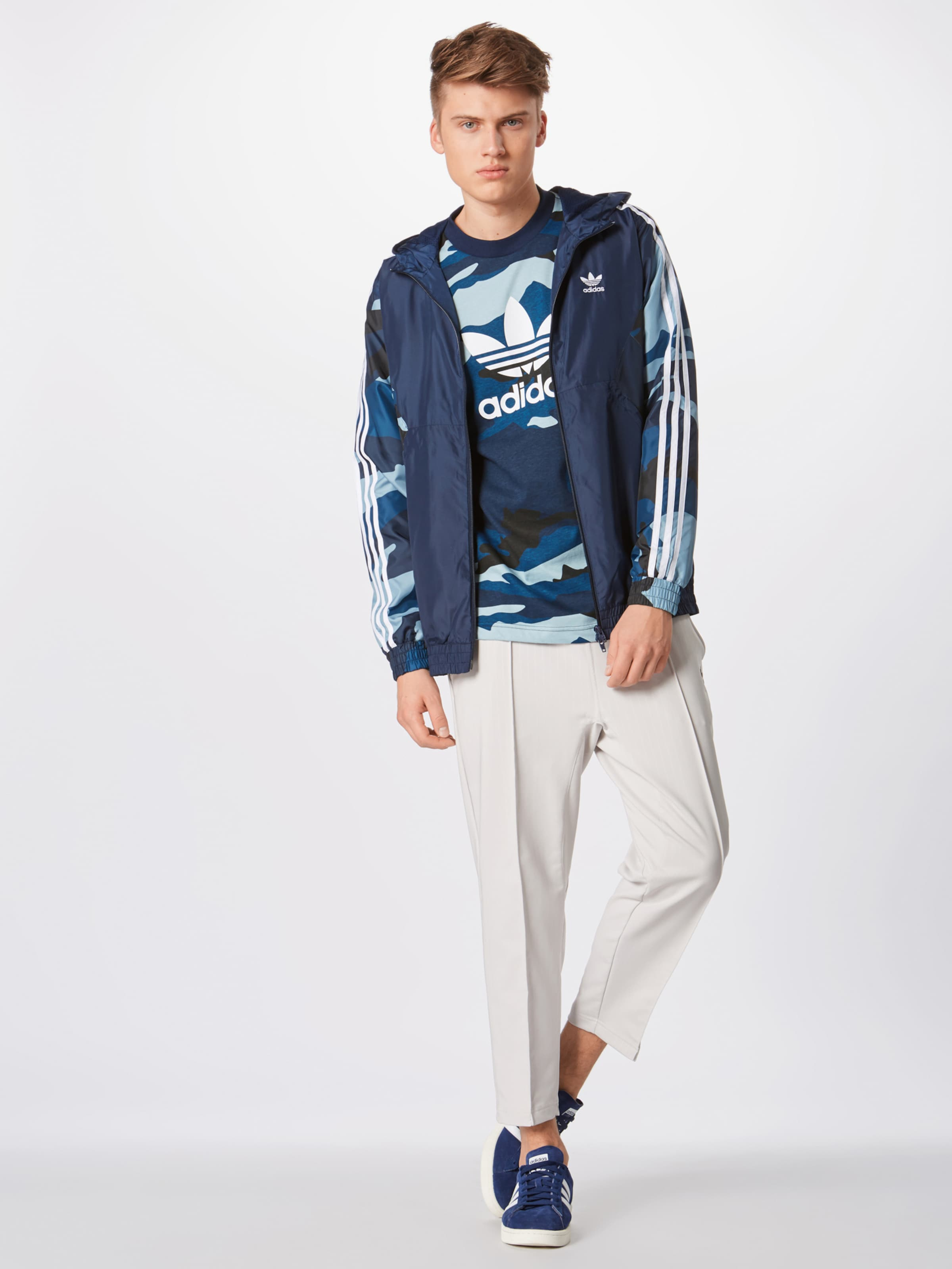 Bleu De En MarineMélange T 'camo Tee' Adidas Originals shirt Couleurs g7yYbfv6