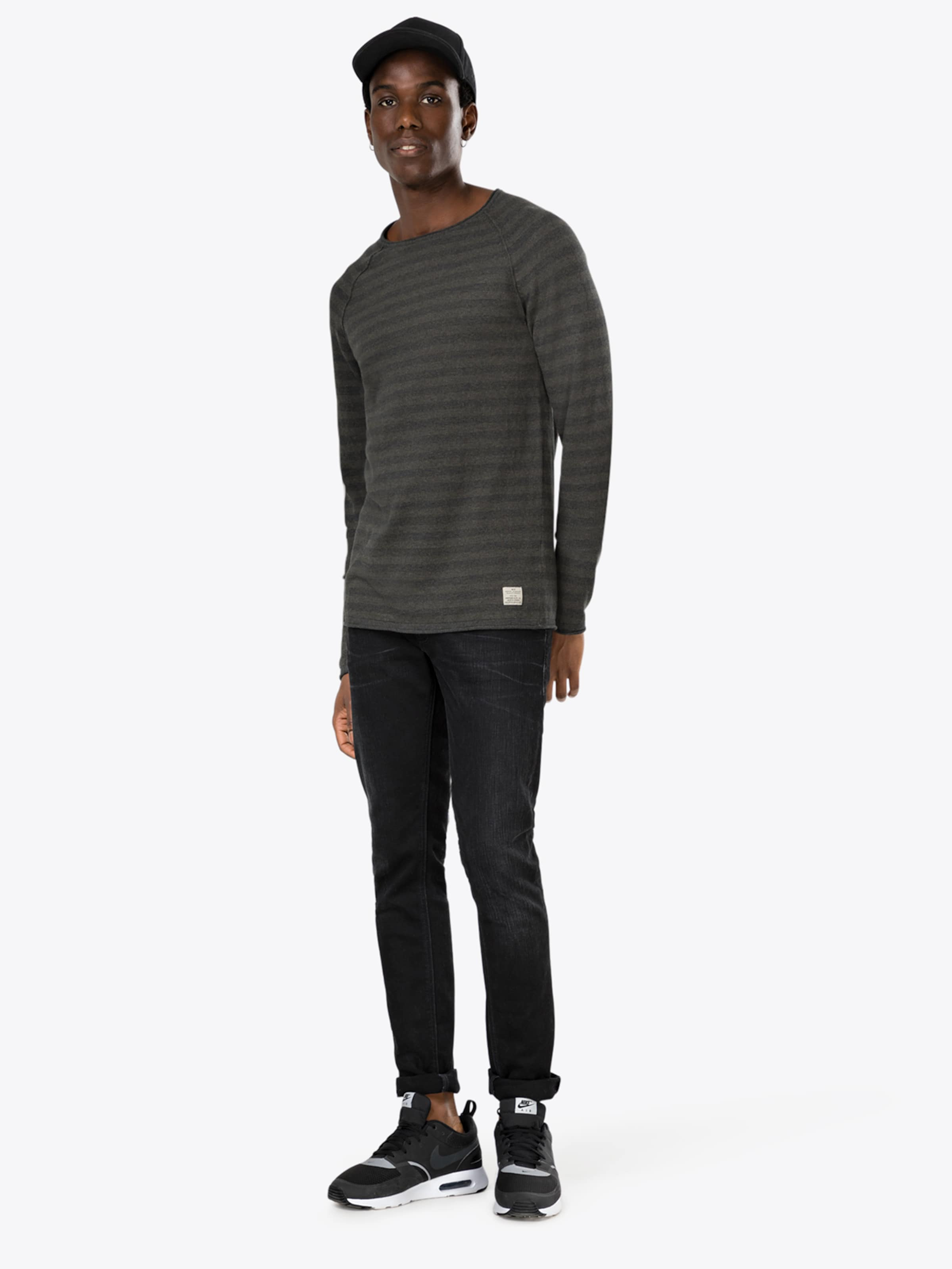 Jackamp; over Jones Crew Noos' Pull Knit Neck 'jjvcunion Kaki En VqzGLpjSUM