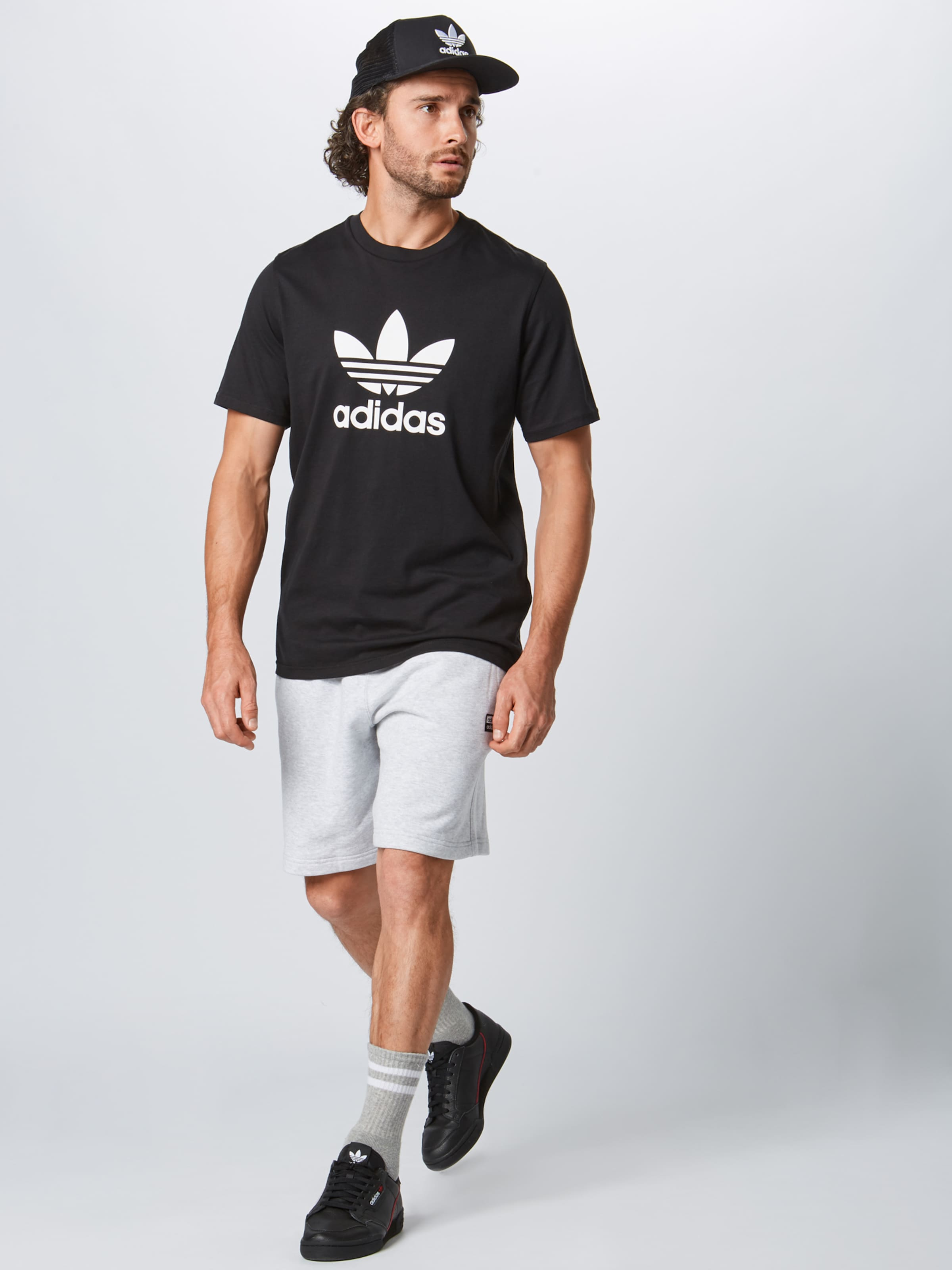 Noir Originals Adidas 'vocal Pantalon Short' En HIDYeWE29b