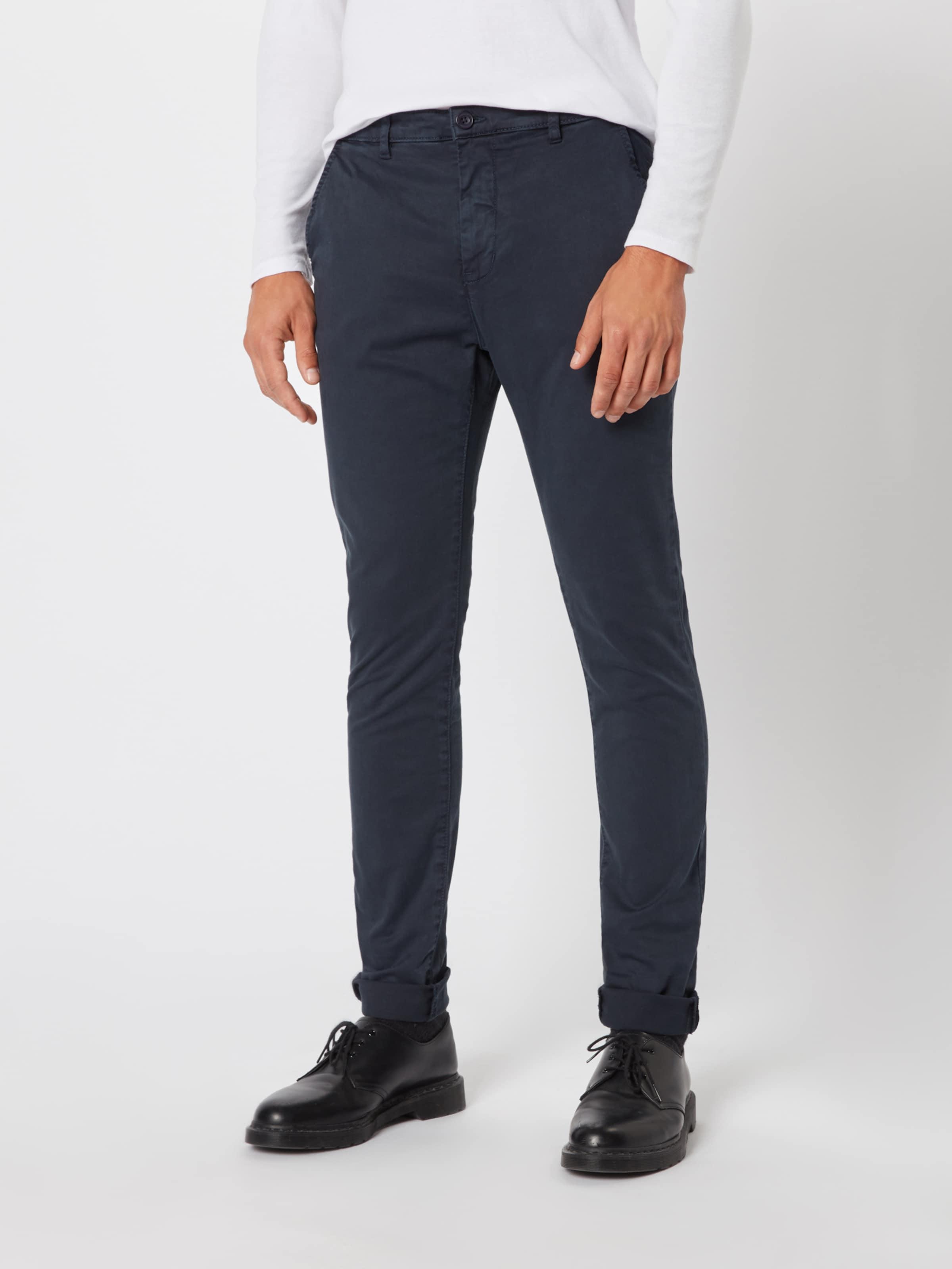 En Bleu Friday Marine Chino Casual Pantalon 534RjLqA