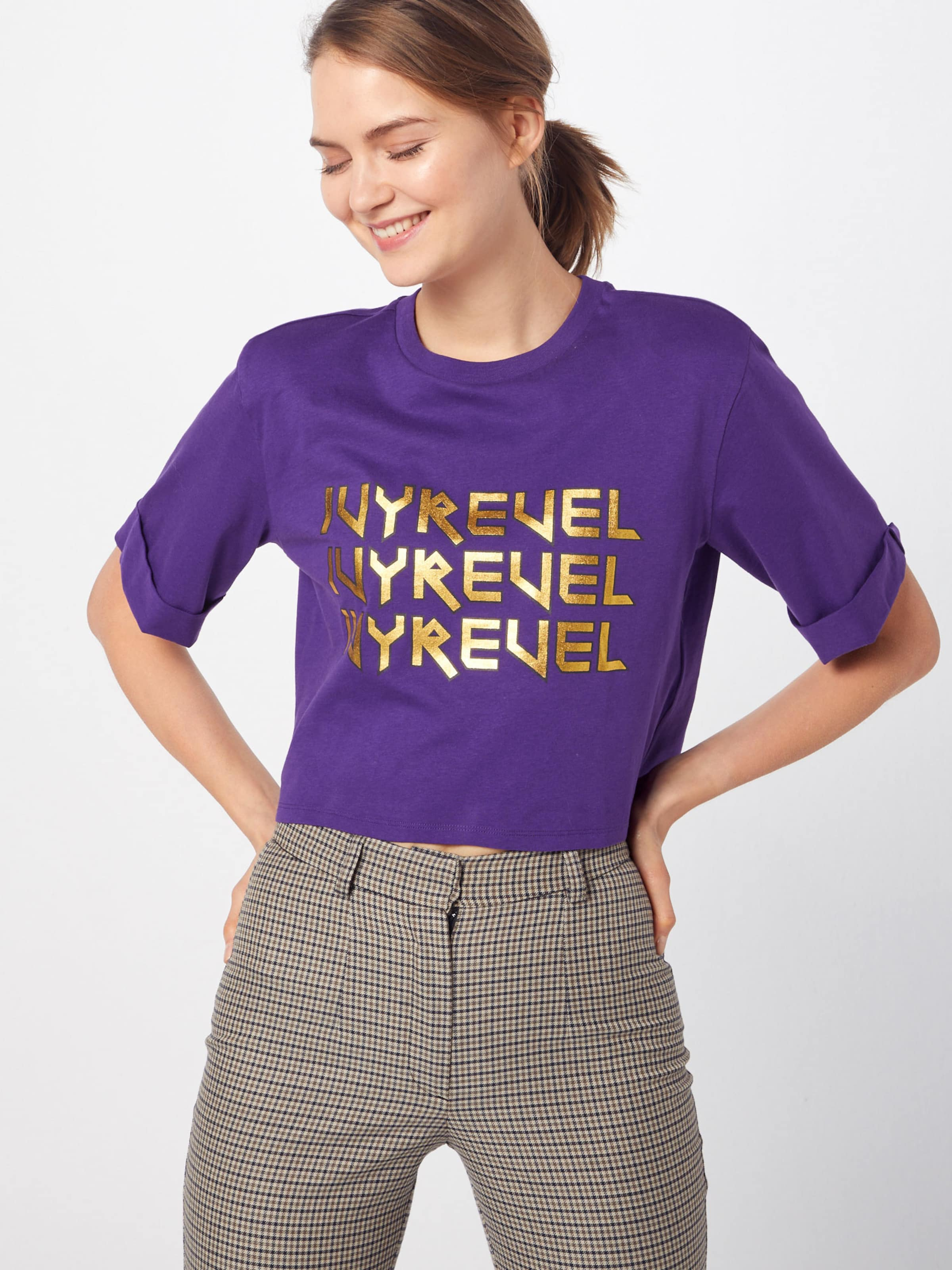 Shirt Ivyrevel In Lila 'cropped Ivy Tshirt' EHY29IDW