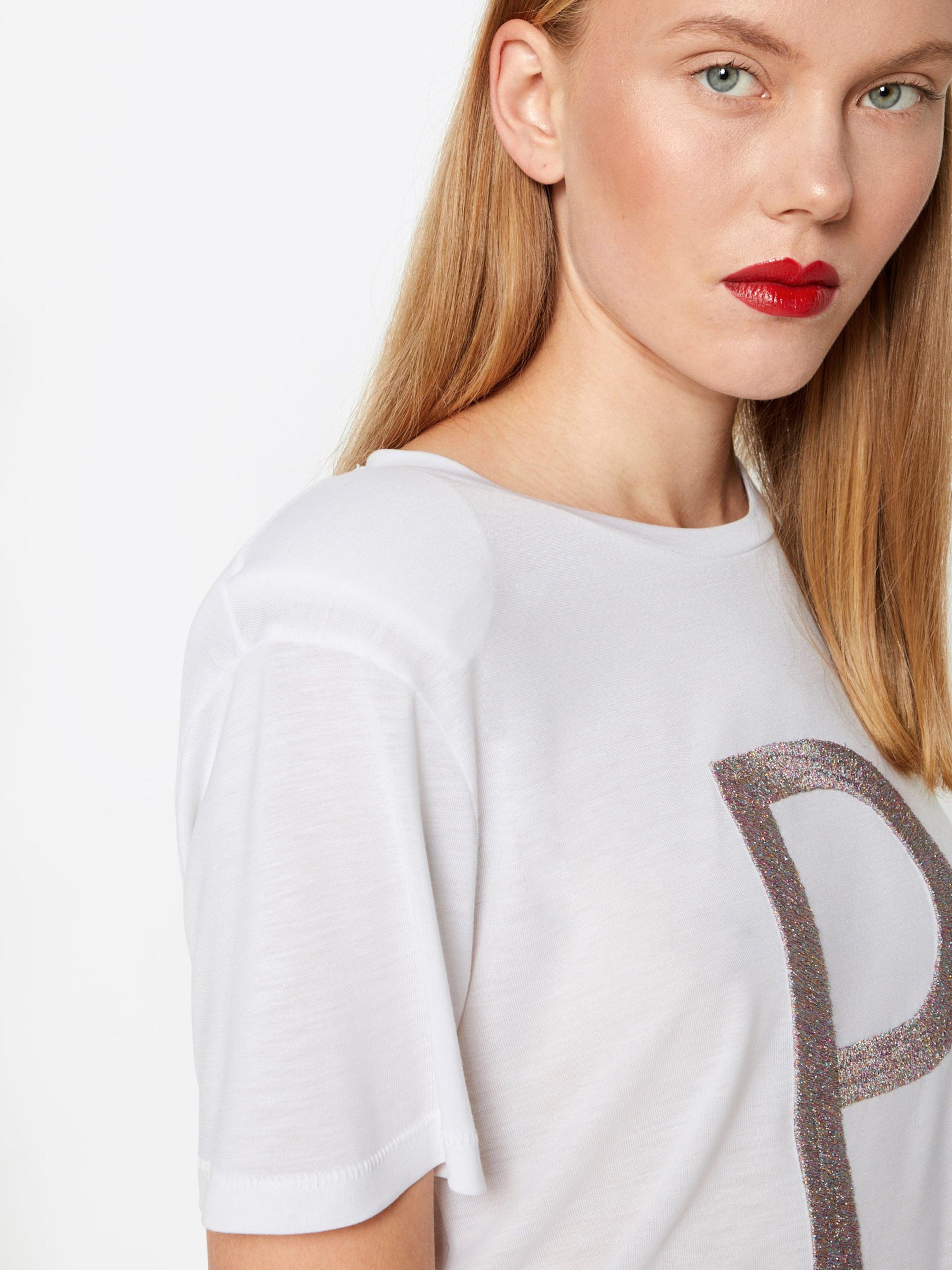 Blanc En shirt Tee' T 'poshortensia Postyr F3KJTlu1c