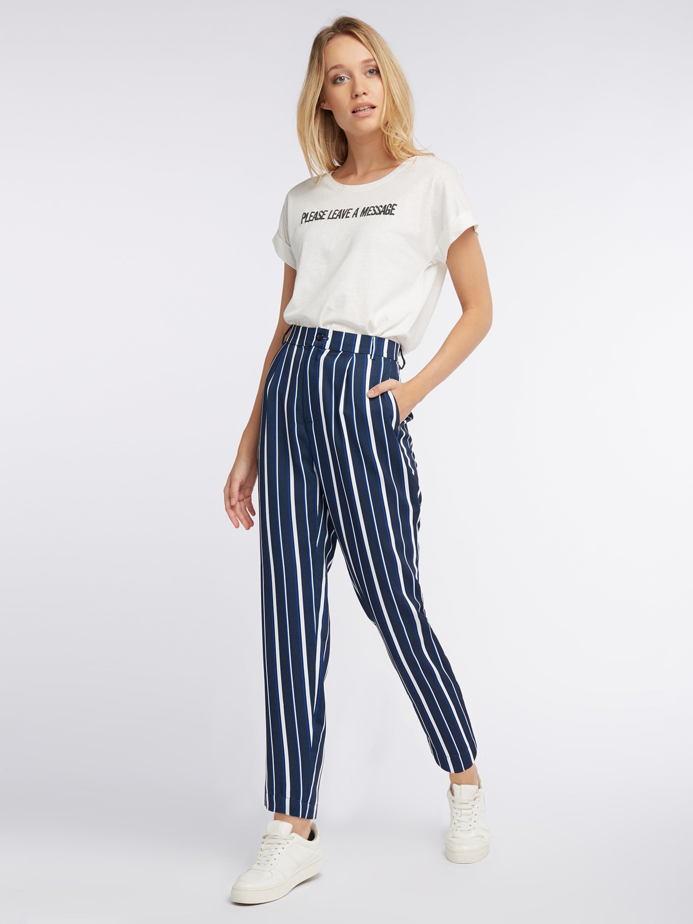 'pants Nyc Fashion Bleu FoncéBlanc Pantalon Poppy' Broadway En shxQCdBtr