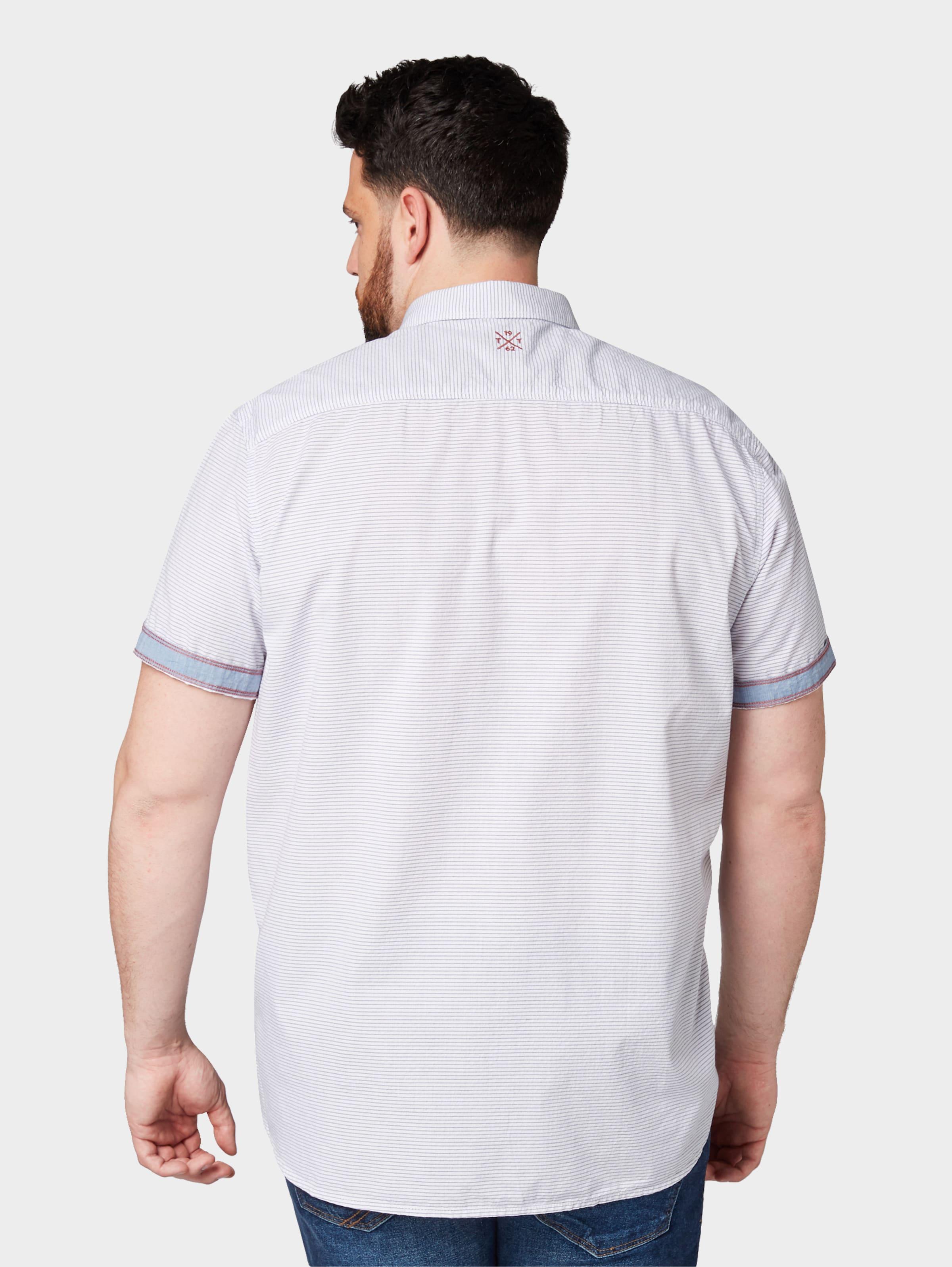 Tom Tailor Tom Tailor Hemd Hemd In In TaubenblauWeiß 8nwvmN0