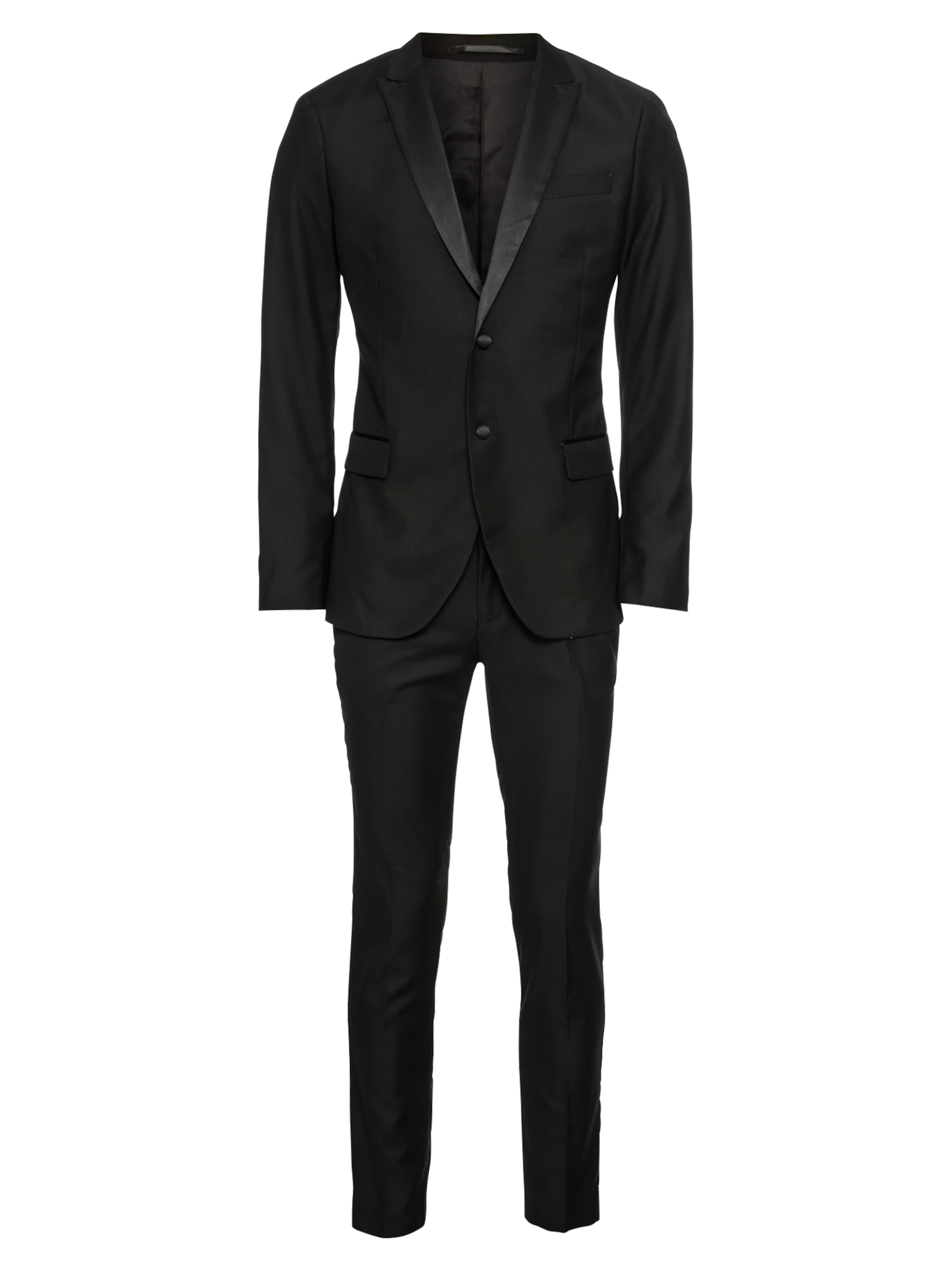 Noir Costume 'poly One Pier En viscose Smoking' 7ybf6Yg