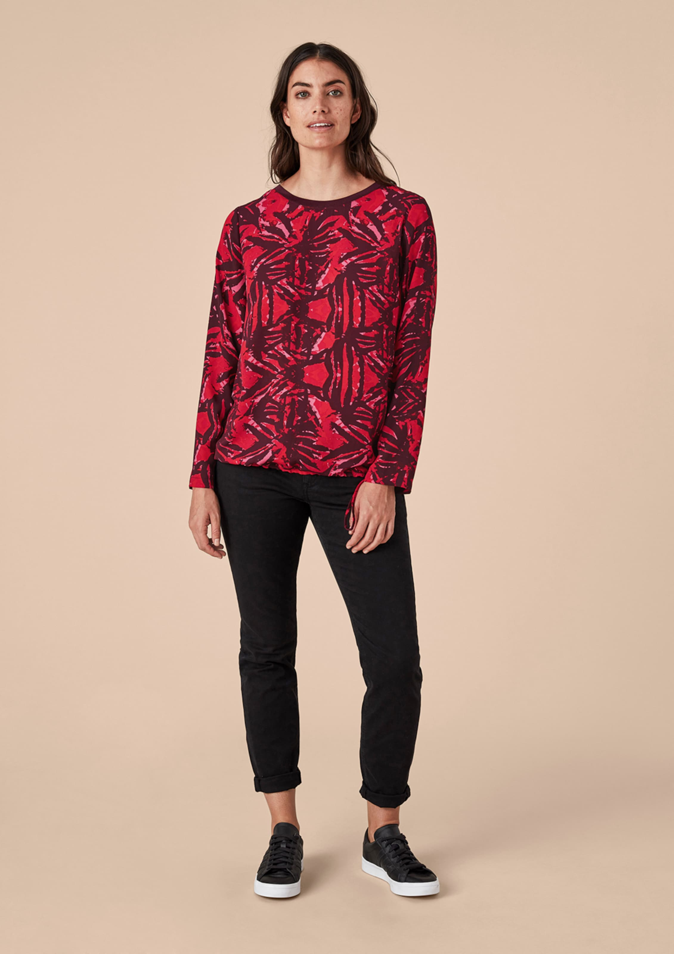 Bluse In RotBurgunder Triangle Triangle In Triangle Bluse RotBurgunder OPkXuZi