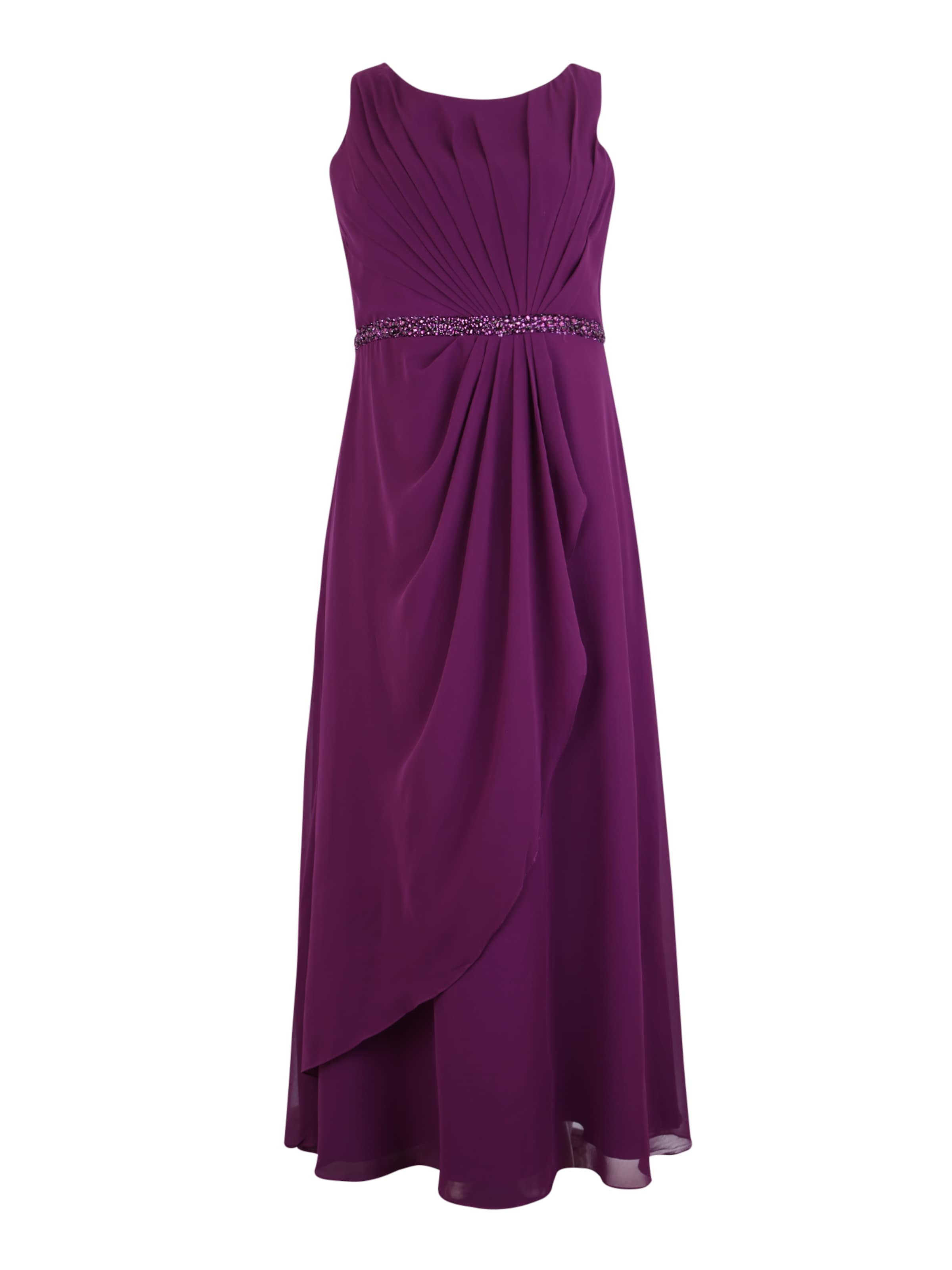 Kleid Curves Aubergine 'gross In Pleat' My Mascara 6yvfgYI7b