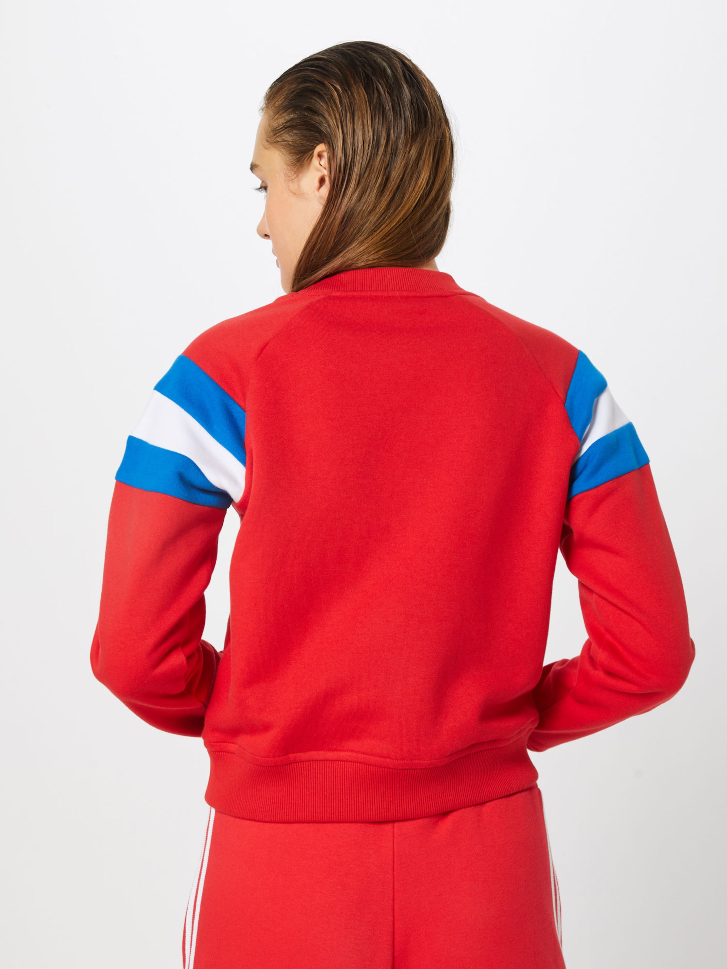 shirt Classics Sweat Blanc Urban En BleuRouge 6fY7gyb