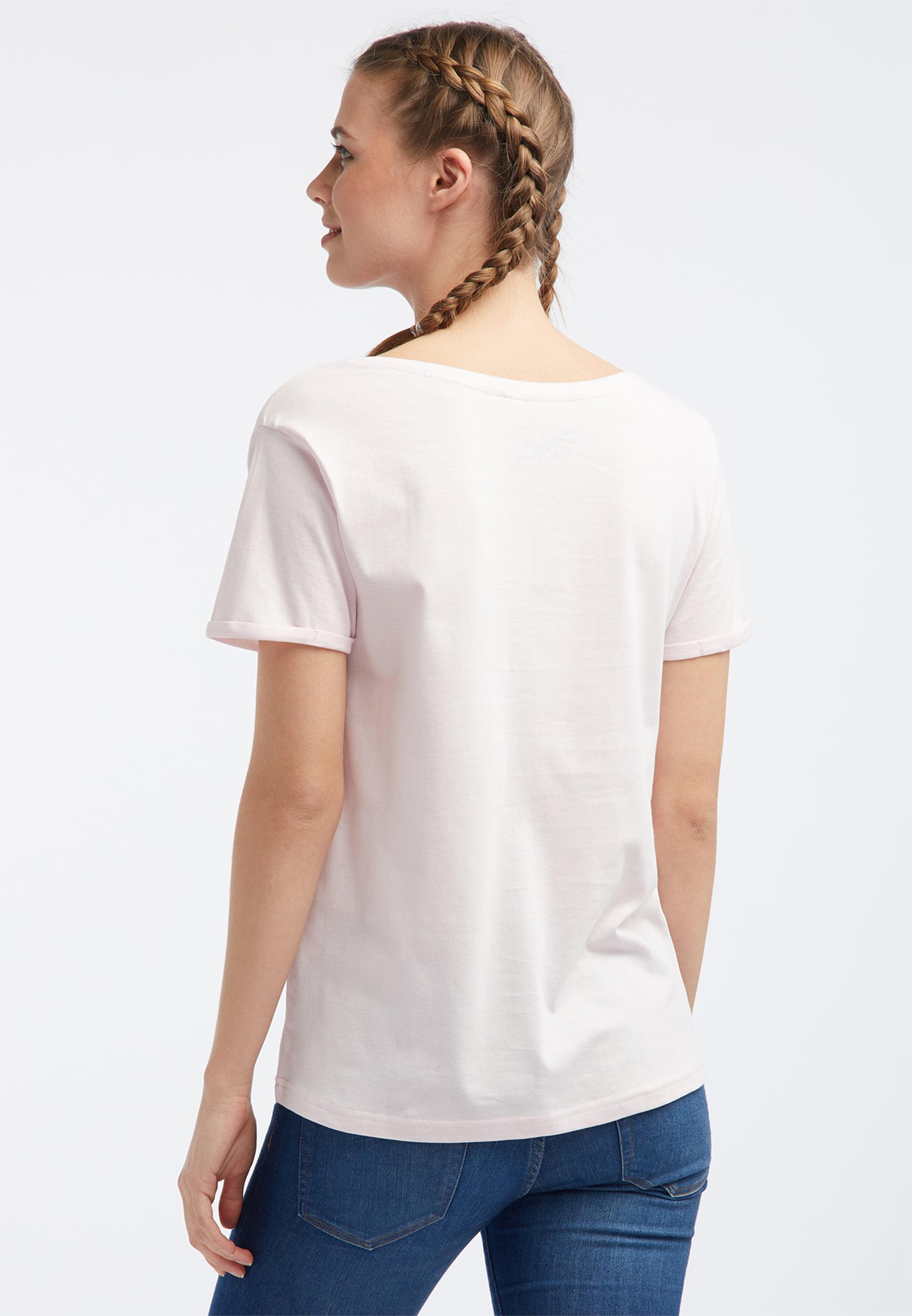 En JauneOrange Clair T shirt Mymo Blanc Rouge xBoWCder