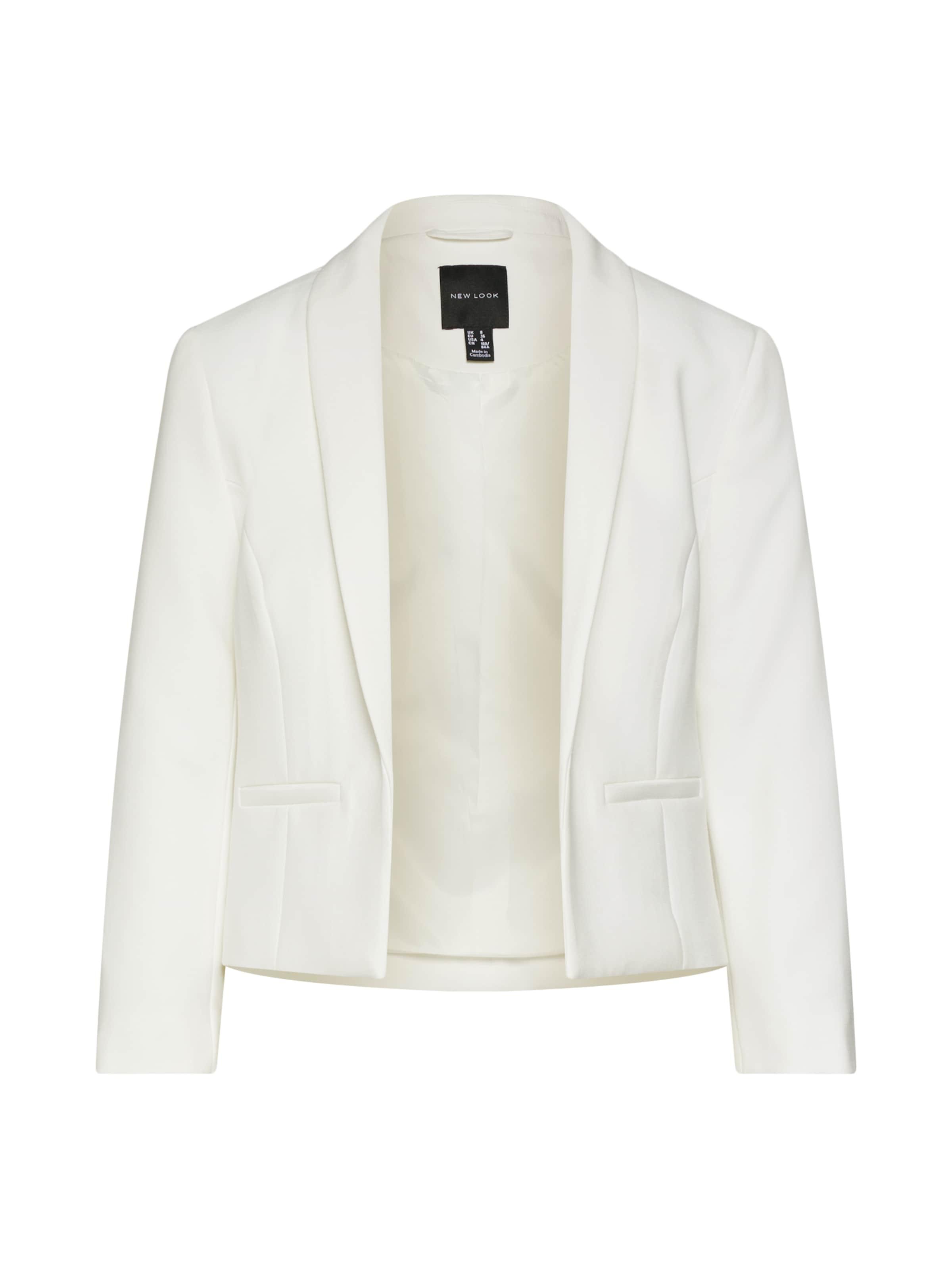 En 'harper' Blanc New Blazer Look ARL45j