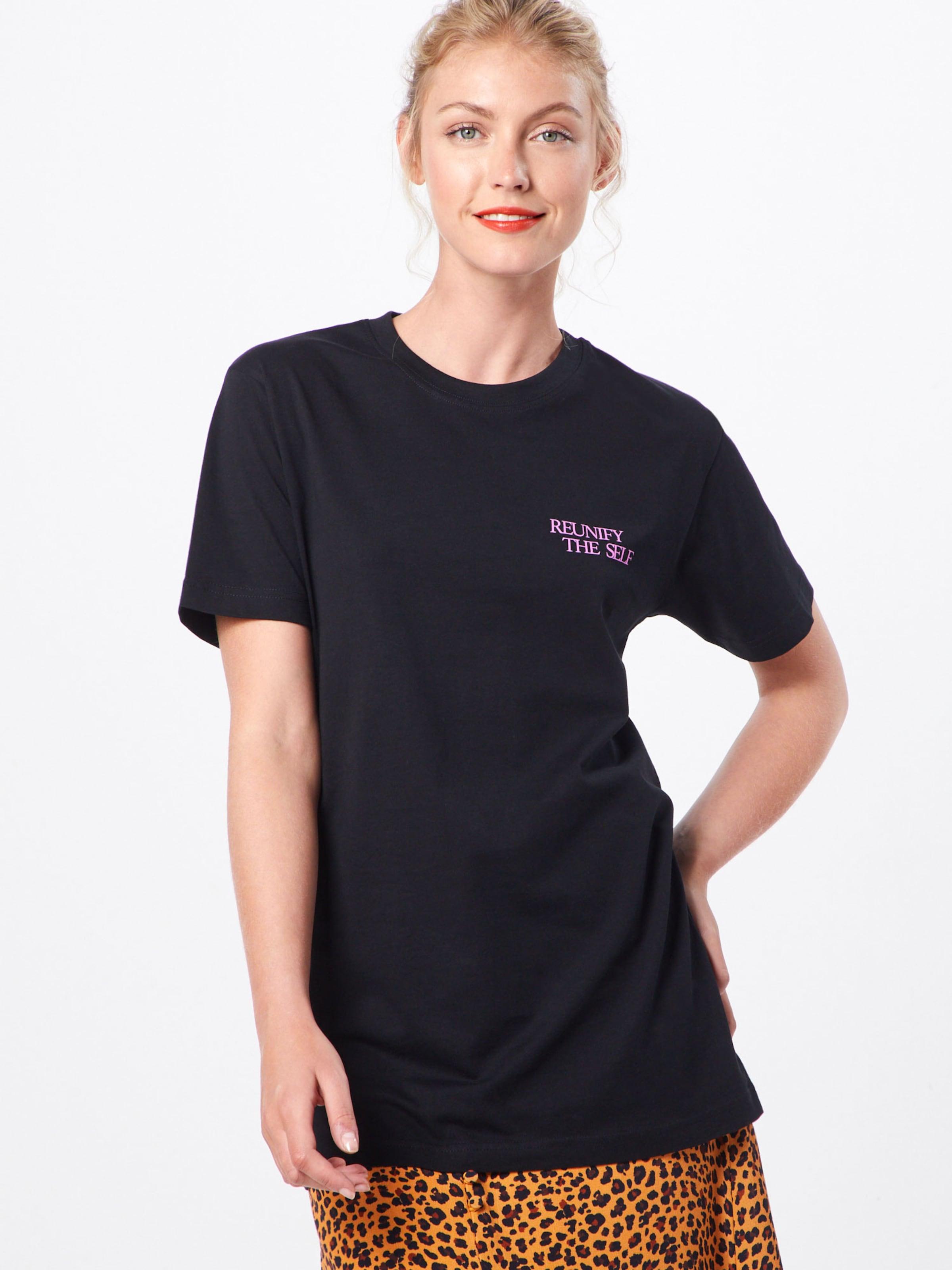 Mélange 'ladies CouleursNoir Reunify De Merchcode T shirt En Tee' 0wOnPkZXN8